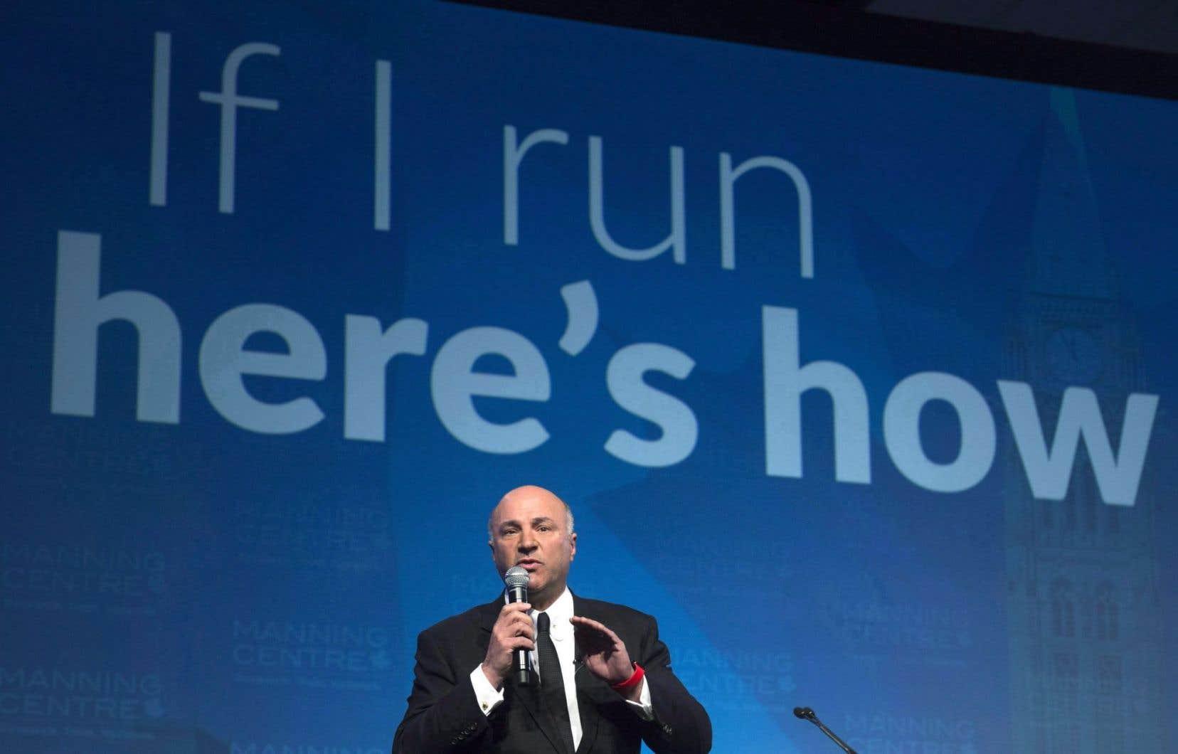 L'homme d'affaires Kevin O'Leary n'a pas décidé s'il entrera dans la course à la direction conservatrice, mais cela n'empêche pas ceux qui sont déjà officiellement candidats de l'attaquer.