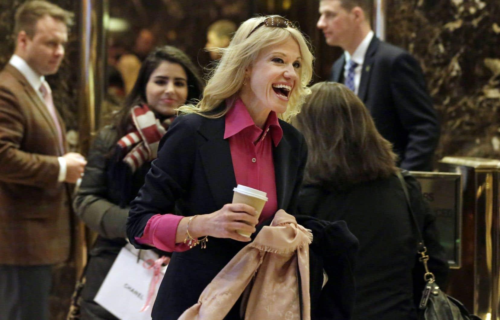 Kellyanne Conway a été directrice de campagne du candidat répubicain, Donald Trump.
