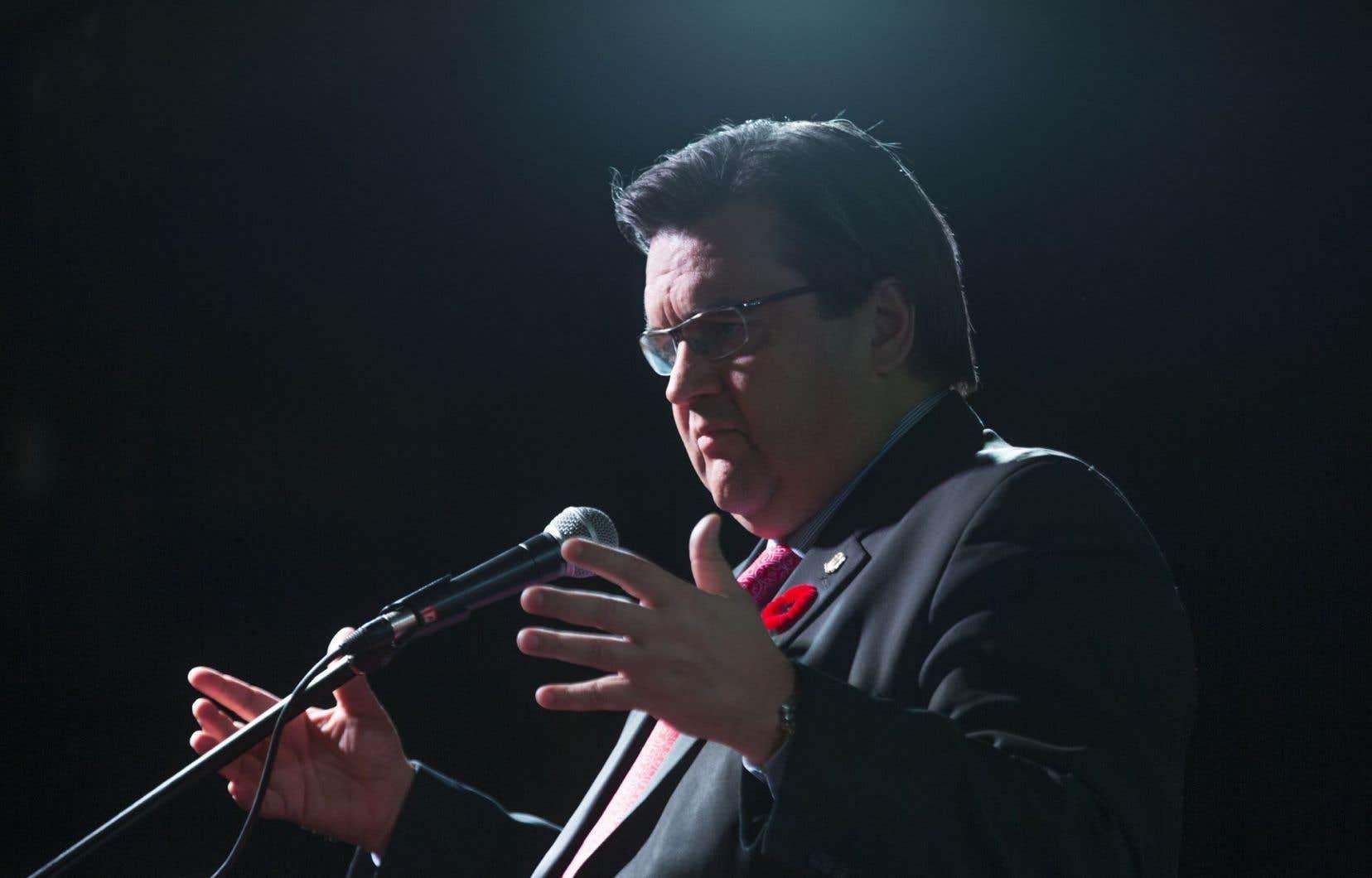 Le maire de Montréal, Denis Coderre