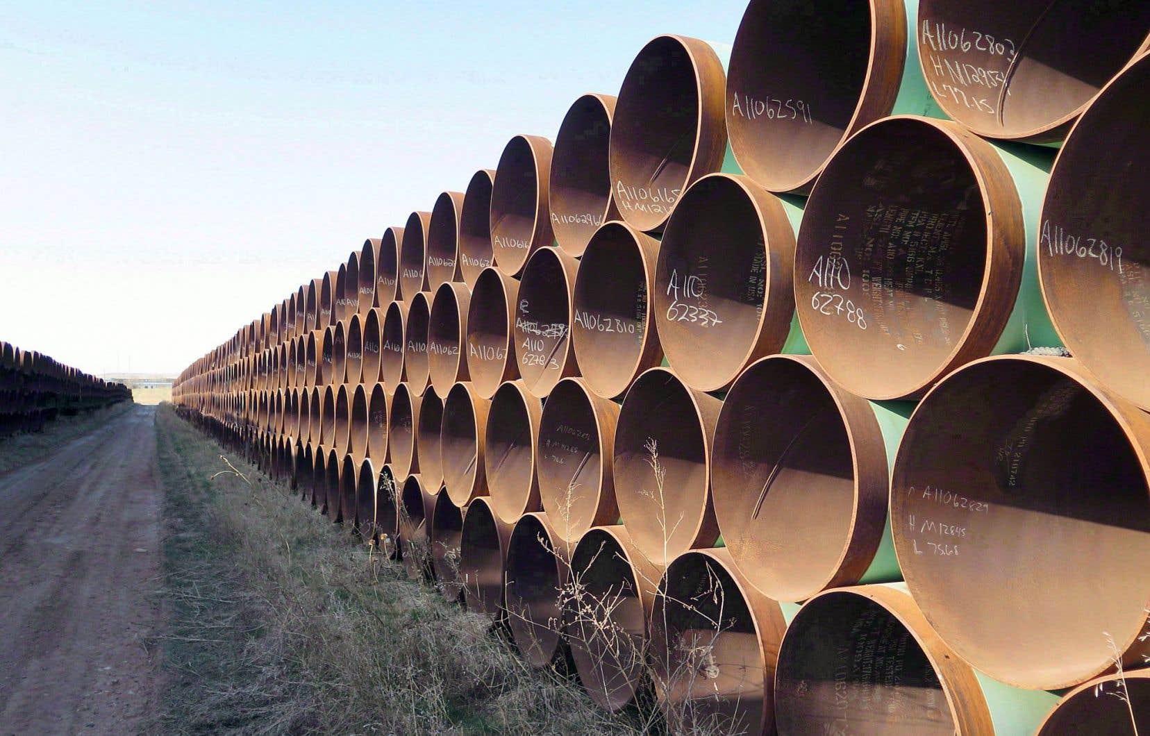 Le projet Keystone XL s'est vu donner un second souffle par l'élection de Donald Trump aux États-Unis. Justin Trudeau a indiqué qu'il était toujours favorable à cet oléoduc, qui permettrait d'acheminer du pétrole albertain jusqu'aux raffineries du Texas.