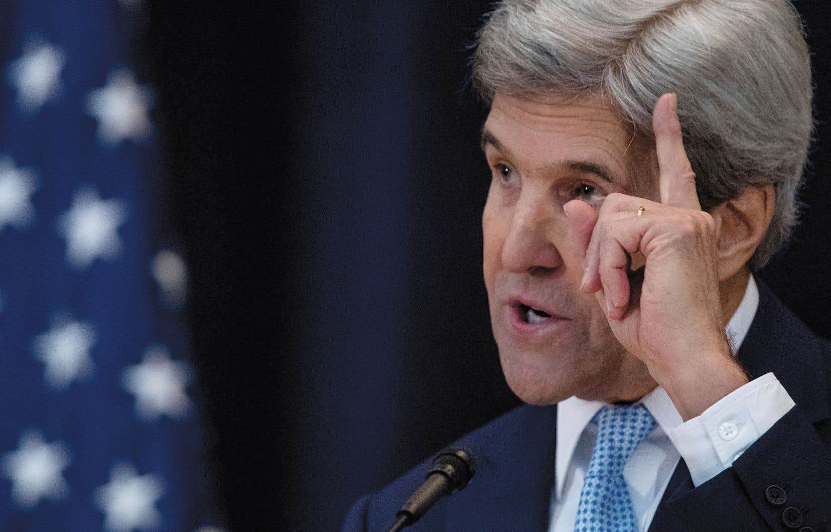 Le secrétaire d'État américain, John Kerry, a livré mercredi un discours aux allures de testament politique. Il y a notamment défendu la solution à deux États, essentielle à la paix au Proche-Orient.