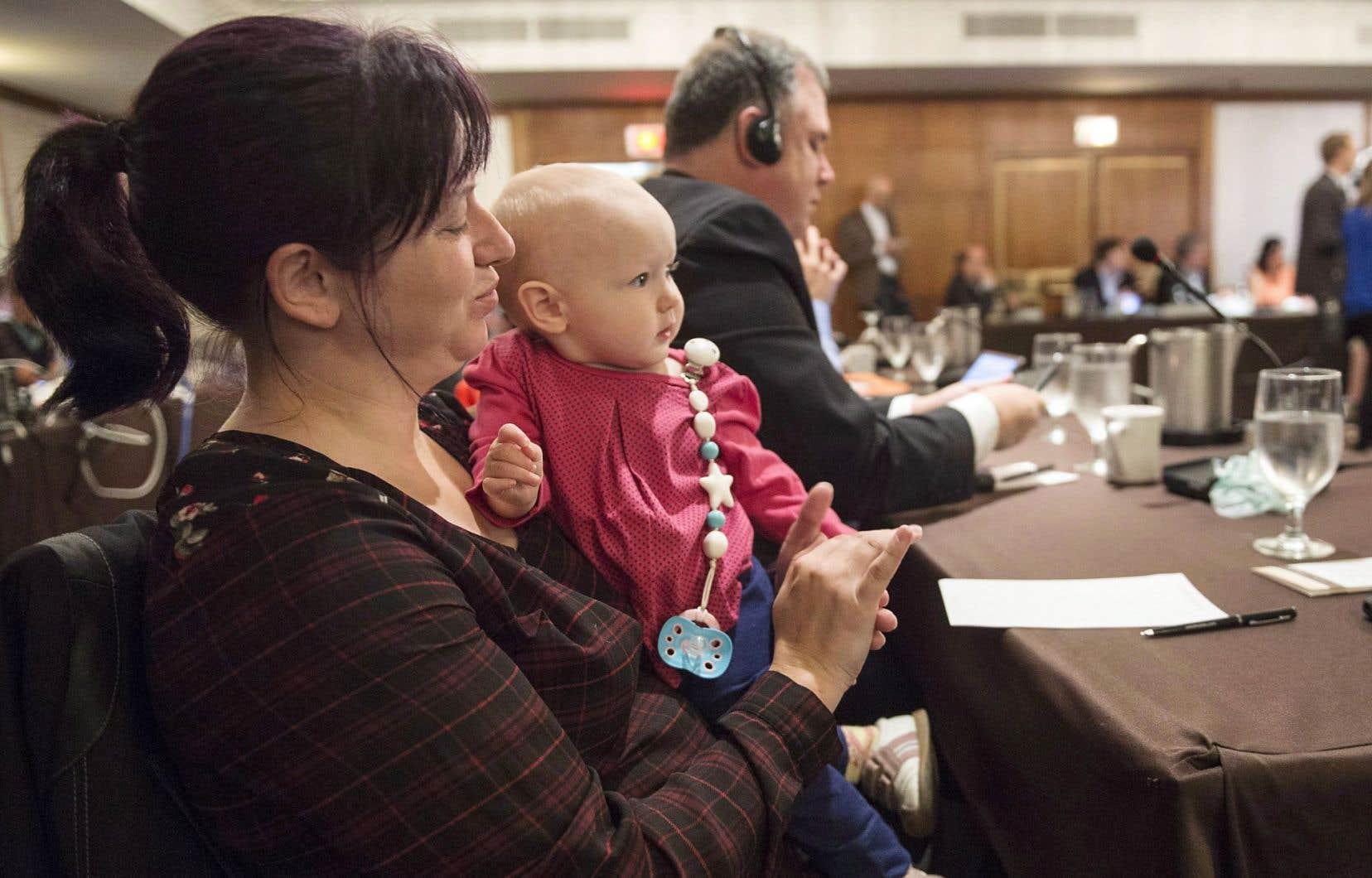 La députée néodémocrate Christine Moore a été une porte-étendard de la cause de la conciliation travail-famille au Parlement fédéral.
