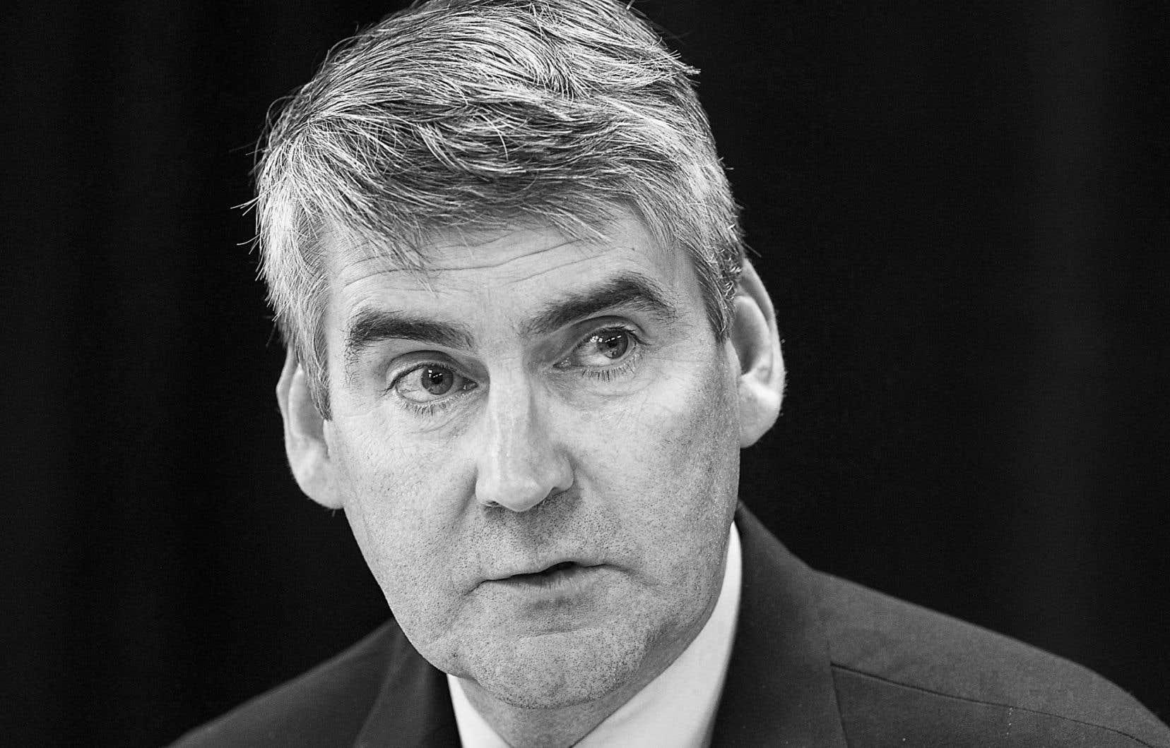 Le premier ministre de la Nouvelle-Écosse,Stephen McNeil