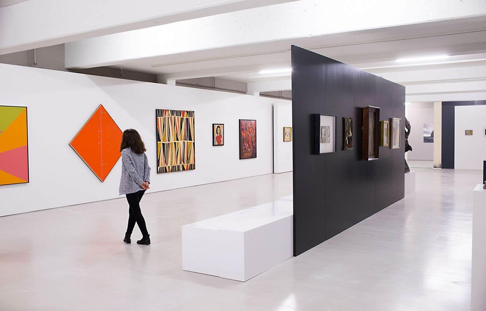 L'art est exigeant. Il demande du temps, de l'introspection, un effort de l'esprit. Sur la photo: le Musée d'art de Joliette.