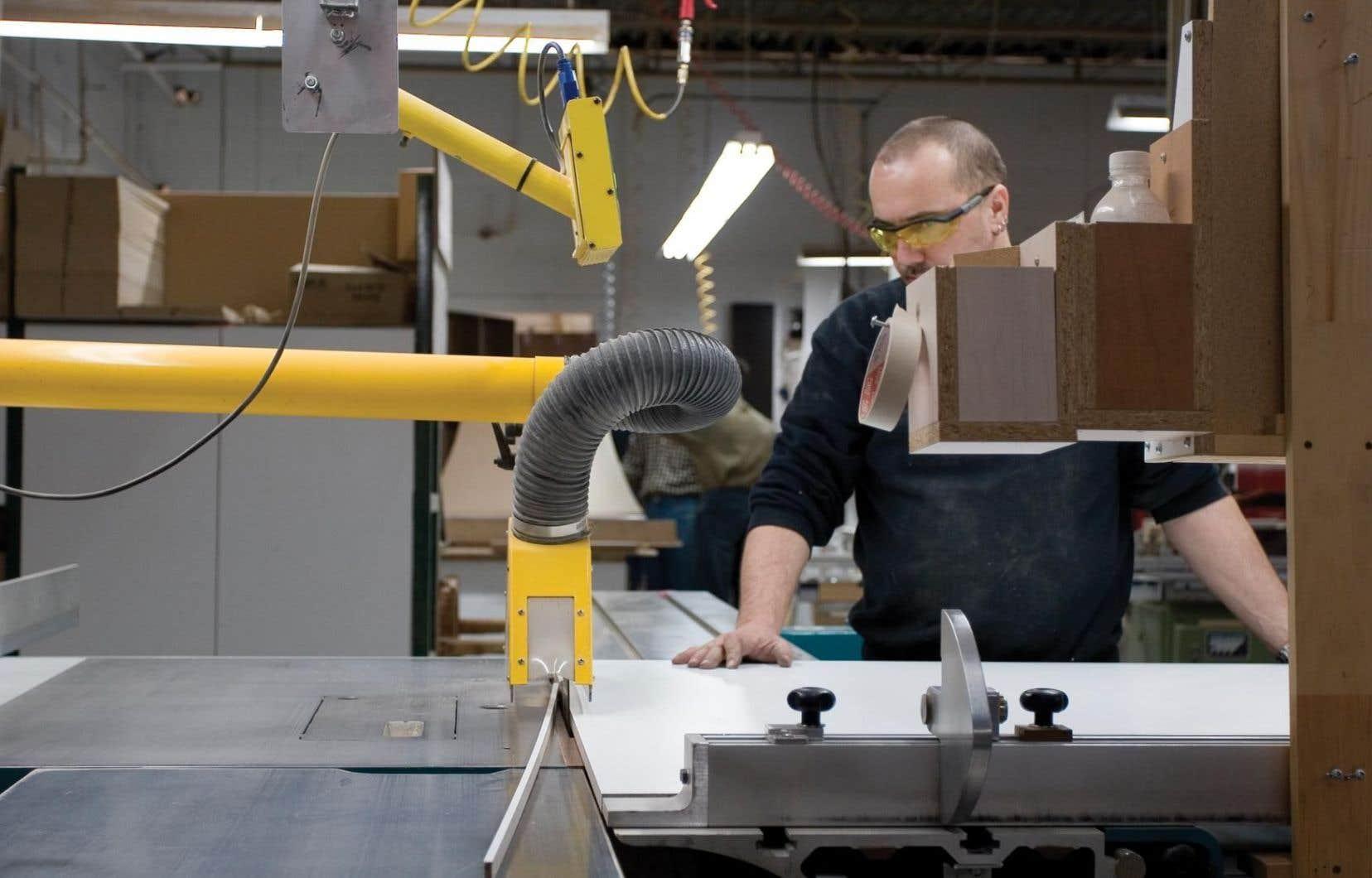 Selon la Fédération canadienne de l'entreprise indépendante, la moitié des entreprises québécoises comptent moins de cinq employés.