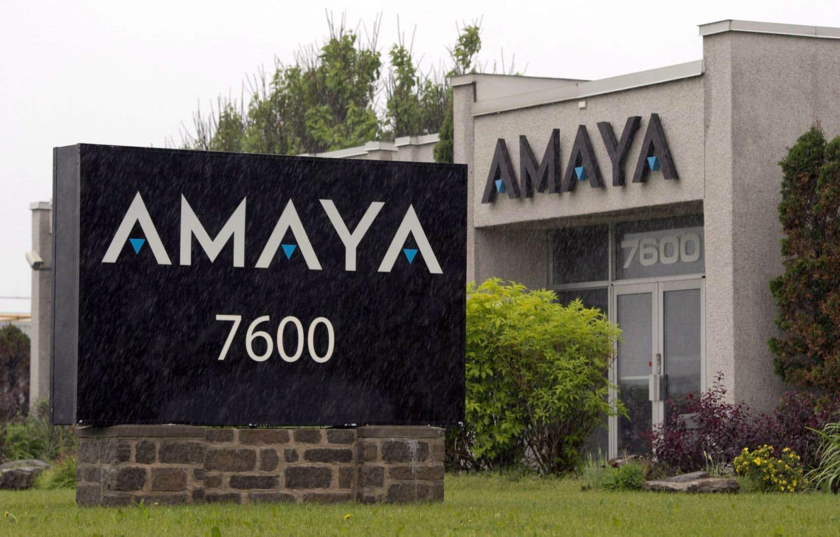 Au cours des derniers mois, le conseil d'administration d'Amaya avait exploré la possibilité d'une fusion avec le preneur de paris britannique William Hill pour finalement renoncer à cette possibilité