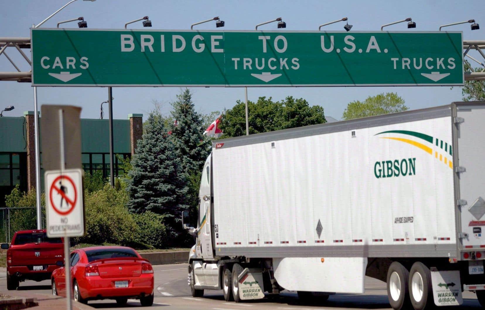 Une taxe d'ajustement aux frontière aurait un impact important.