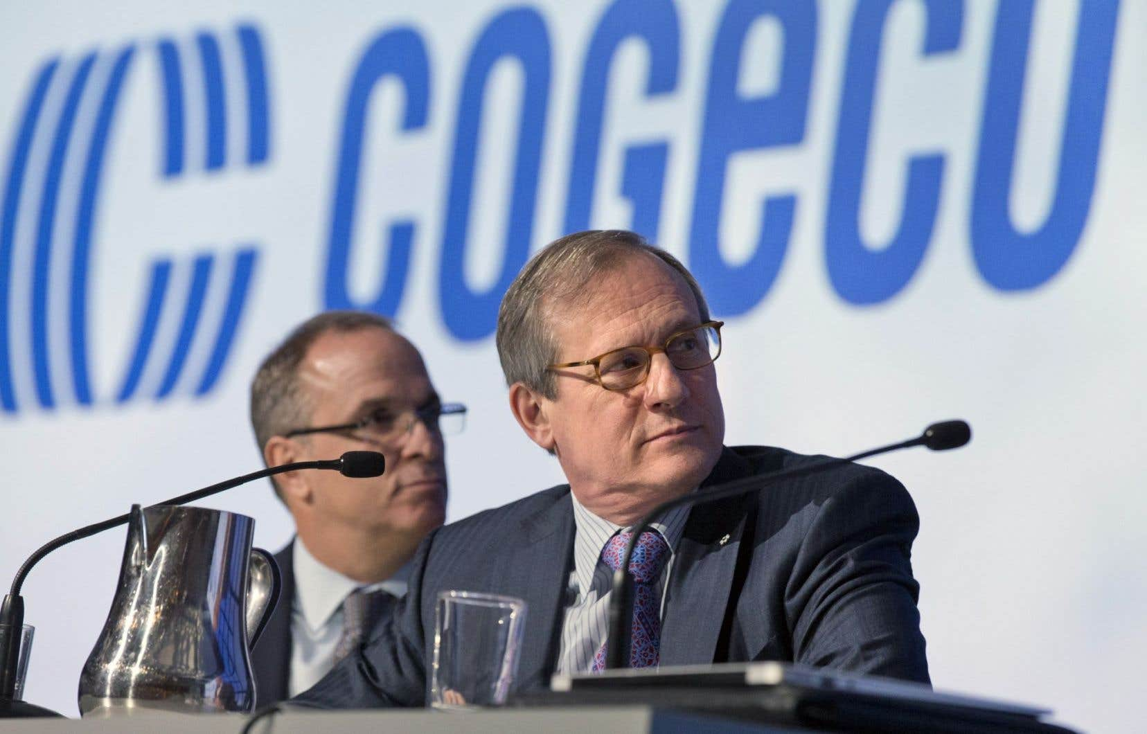 Le président et chef de la direction de Cogeco, Louis Audet