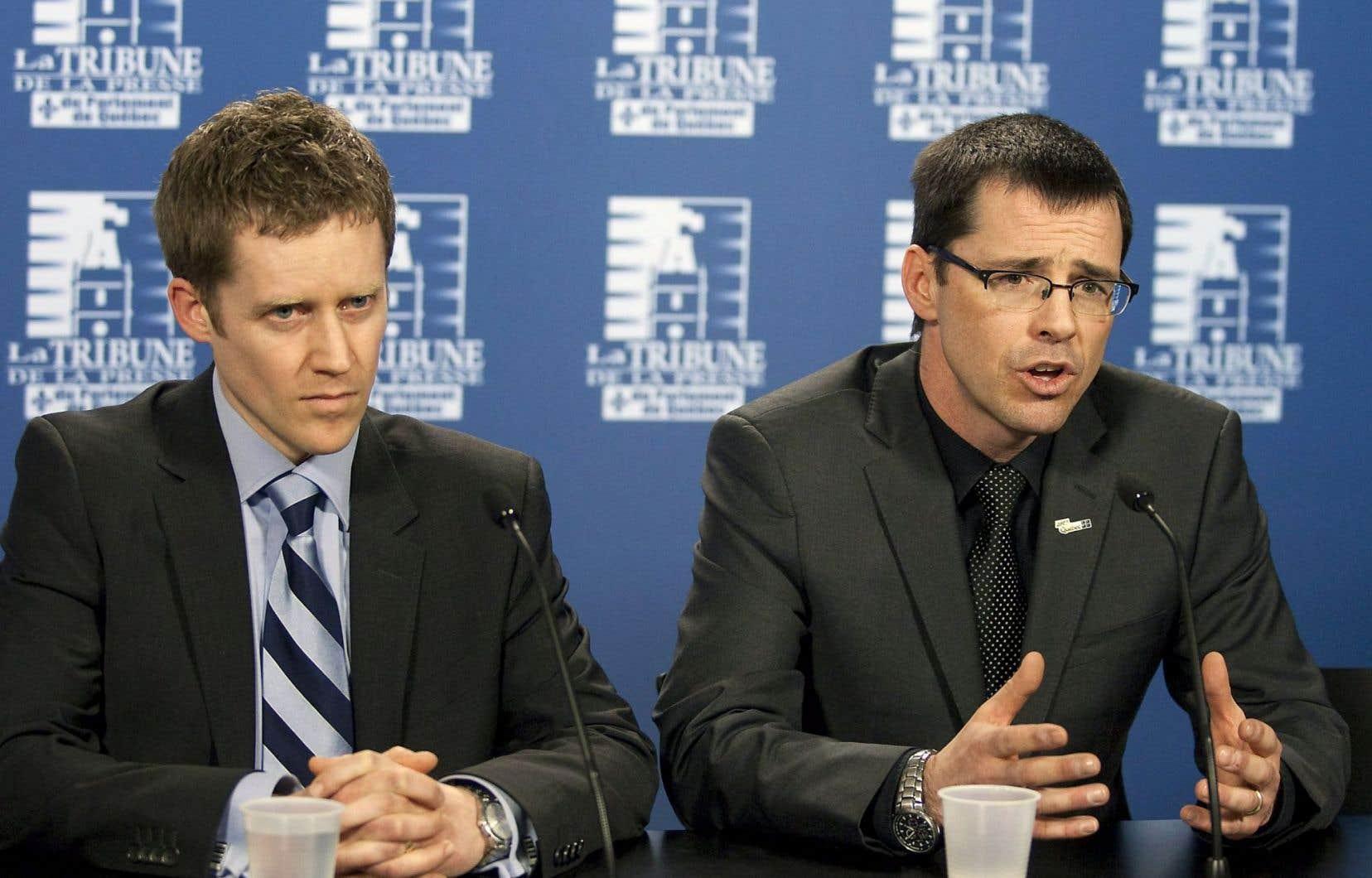L'avocat Christian Leblanc (droite) a déjà oeuvré en droit auprès des communautés cries et inuites.