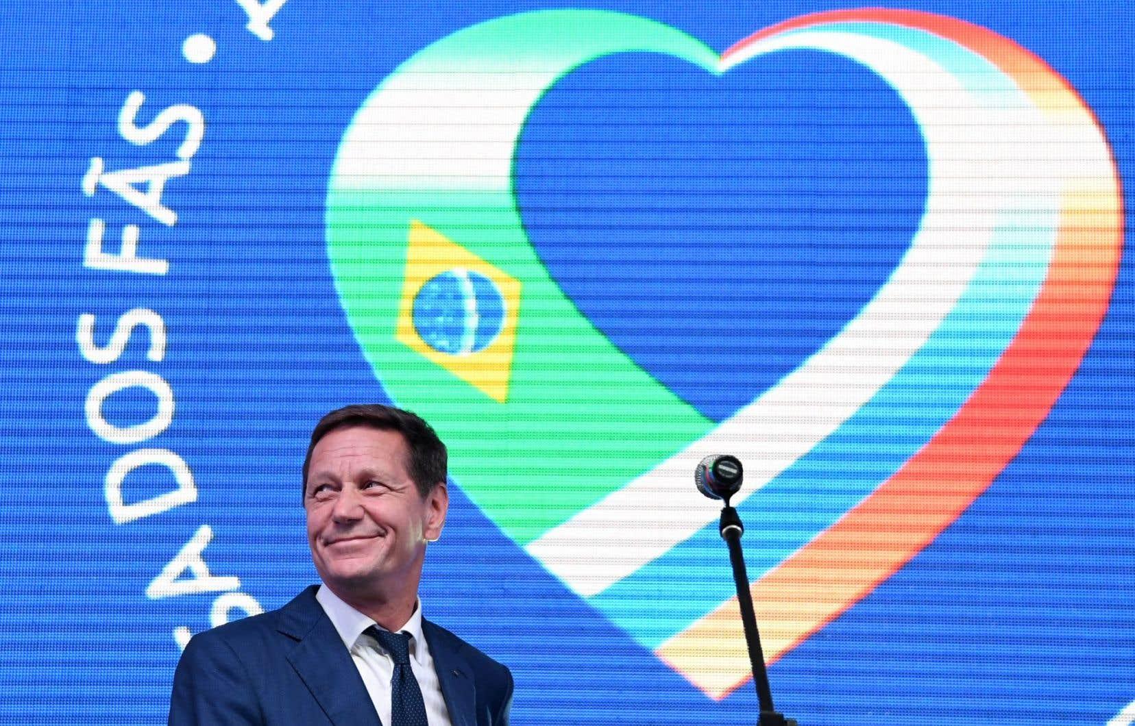 Le président du Comité olympique russe Alexander Zhukov