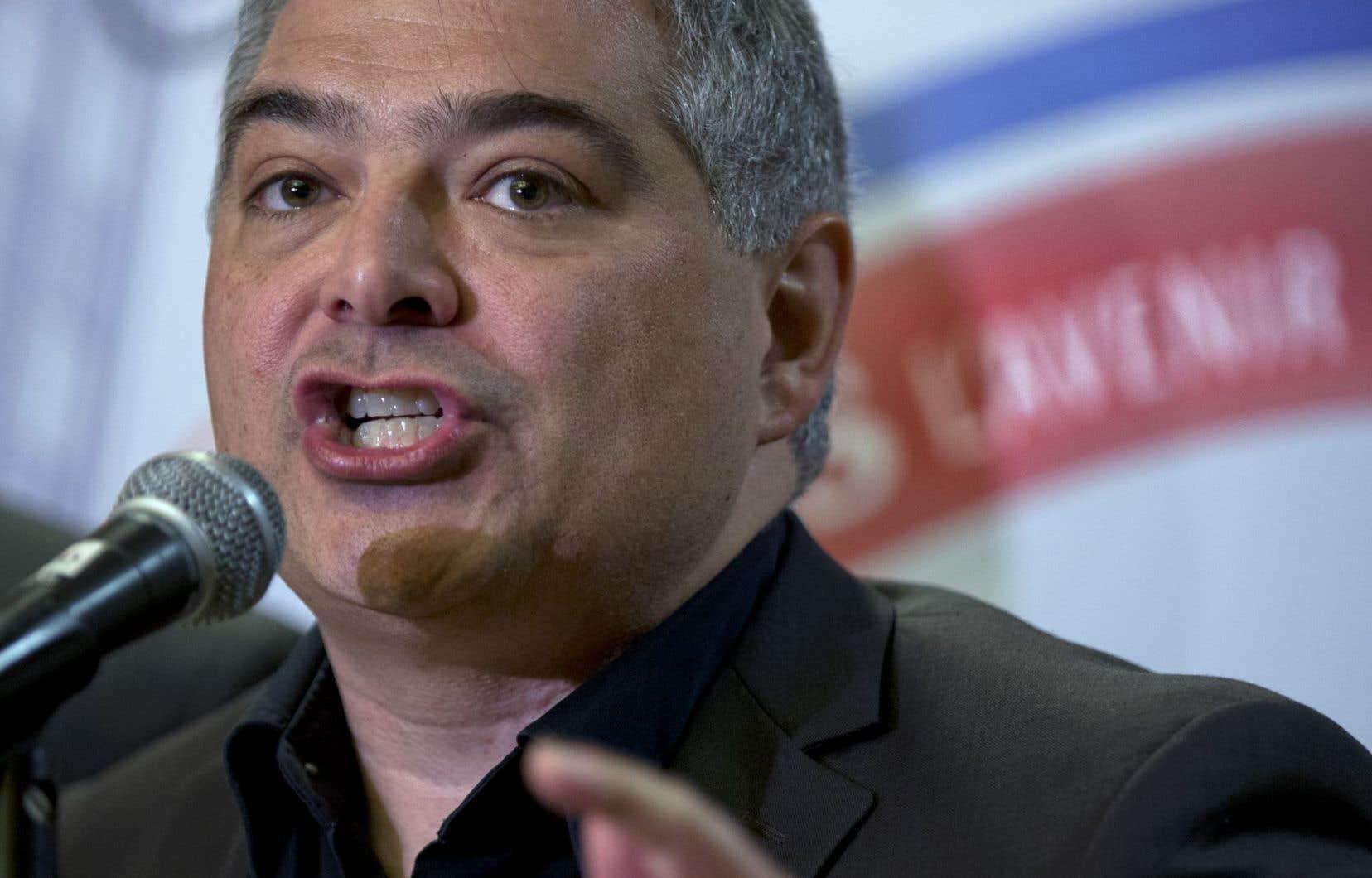 Sylvain Mallette, président de la Fédération autonome de l'enseignement