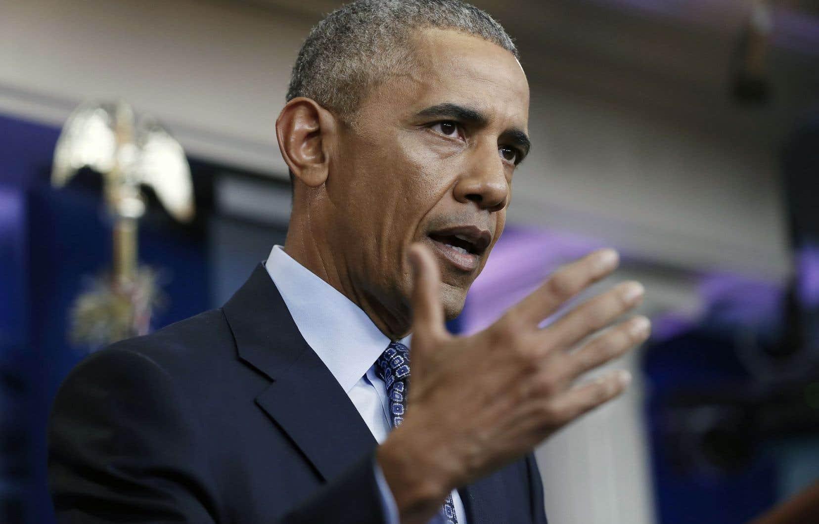 Le 44e président américain a tenu, mercredi, la dernière conférence de presse de son mandat.
