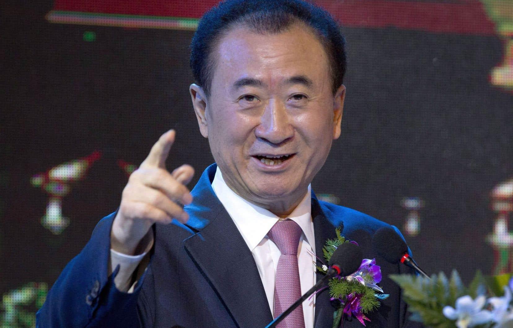 Wang Jianlin, l'homme le plus riche de Chine a instamment demandé à M.Trump de ne pas ruiner l'industrie des loisirs par une guerre commerciale.