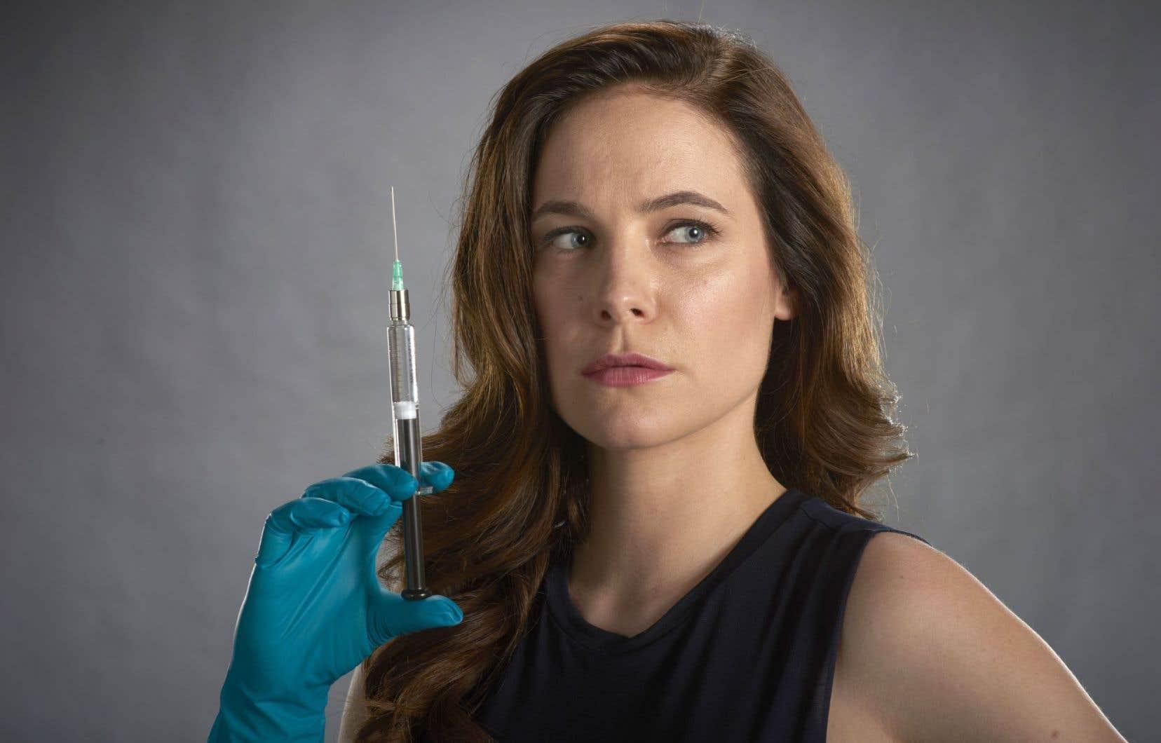 L'actrice Caroline Dhavernas tient le premier rôle de la nouvelle série «Mary Kills People», une urgentologue mère célibataire.