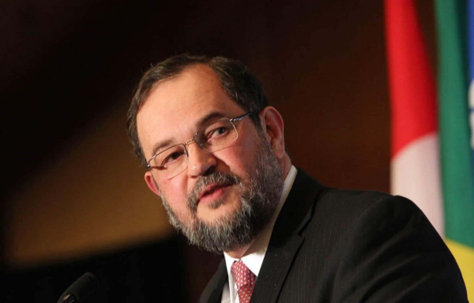 L'ambassadeur du Brésil au Canada, Paulo Cordeiro de Andrade Pinto, a déjà proposé au gouvernement fédéral l'établissement d'un accord Canada-Mercosour.
