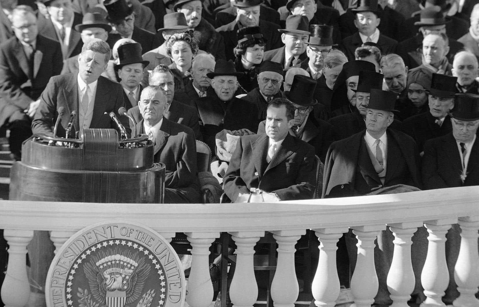 C'est lors de son discours d'intronisation en janvier1961 que John F. Kennedy a livré cette phrase devenue célèbre: «Ne demandez pas ce que votre pays peut faire pour vous, demandez-vous ce que vous pouvez faire pour votre pays.»