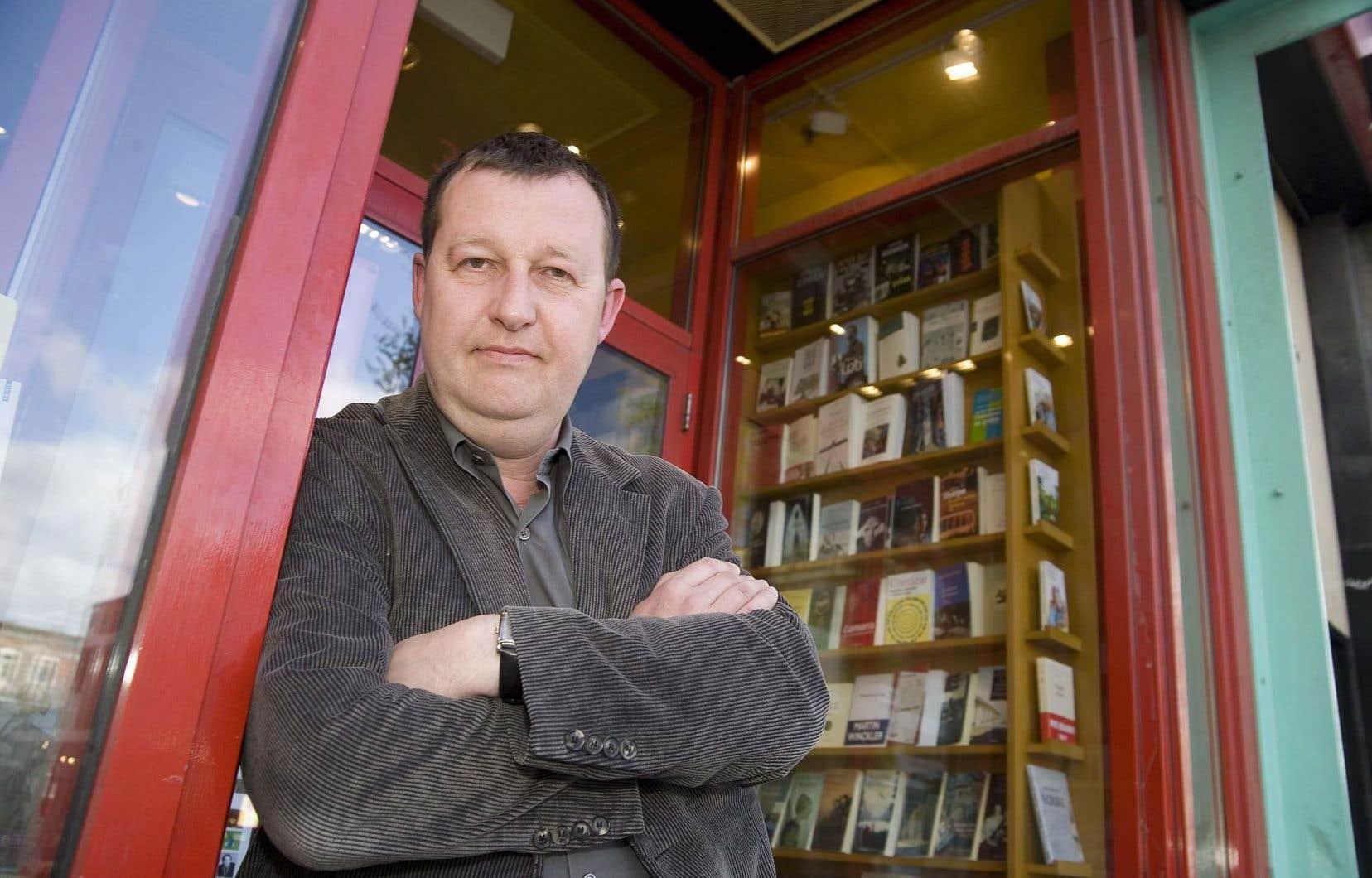 L'écrivain Philippe Forest