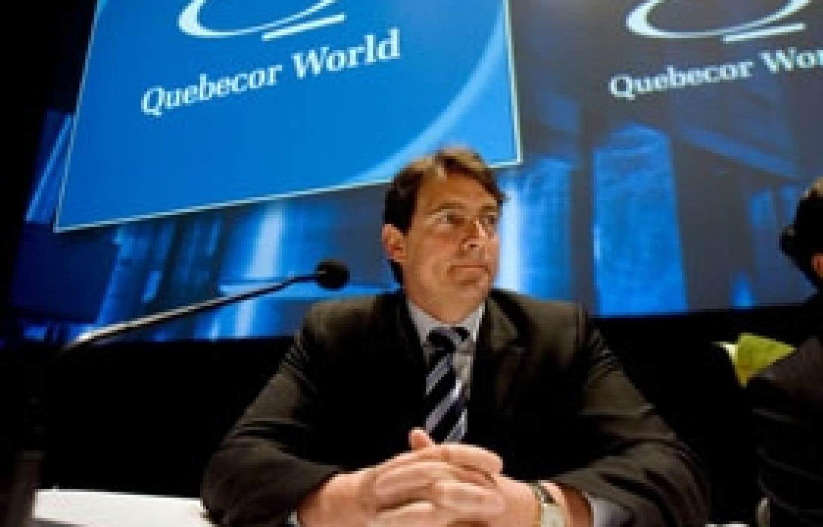 Pierre Karl Péladeau de même que son frère Érik, les deux fils du fondateur du conglomérat Quebecor World, Pierre Péladeau, ont quitté récemment le conseil d'administration de l'imprimeur.