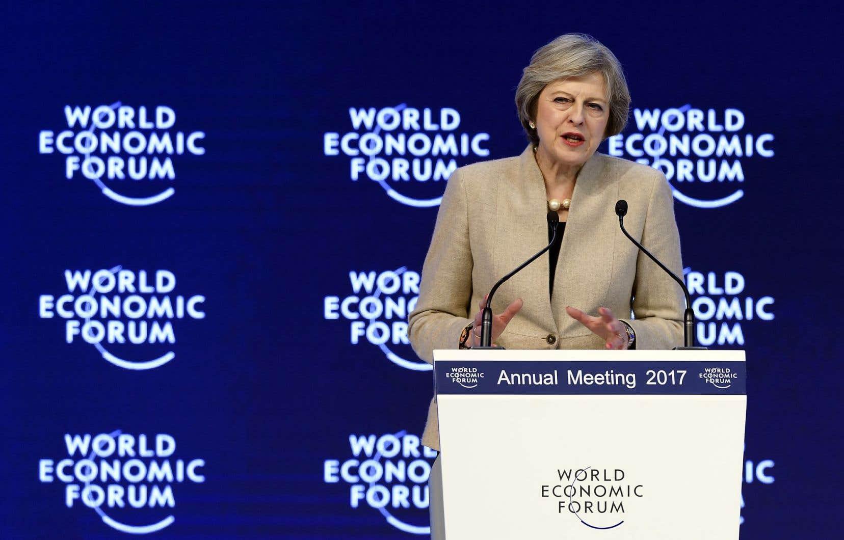 La première ministre du Royaume-Uni, Theresa May