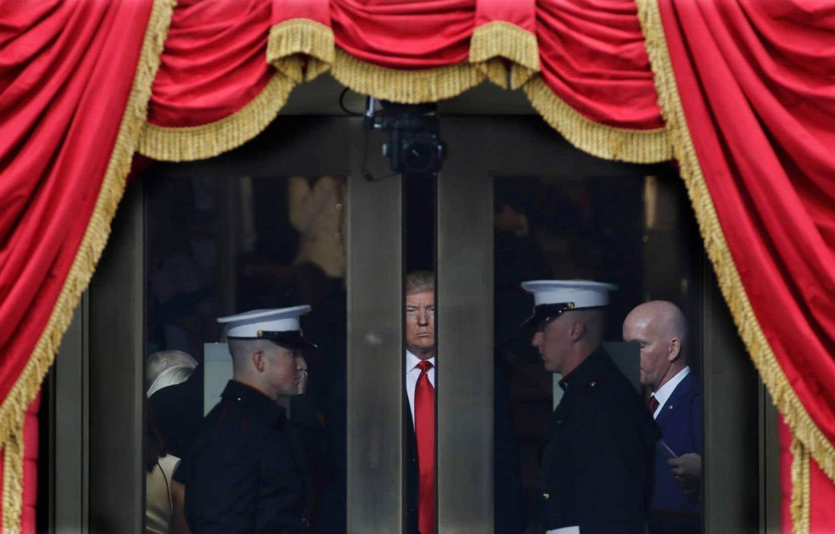 Le 45e président des États-Unis, Donald Trump