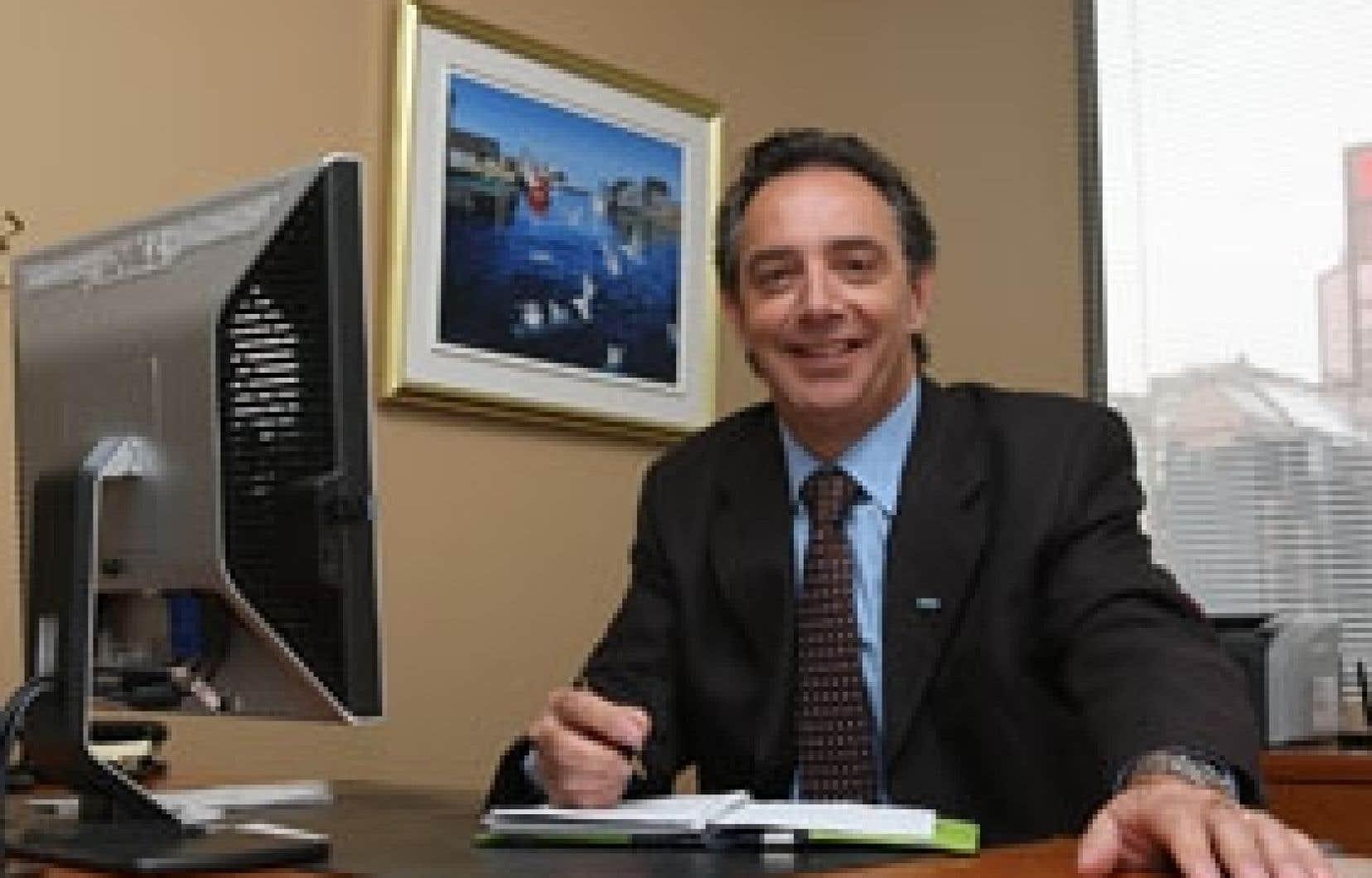 Pour Florent Francoeur, président-directeur général de l'Ordre des conseillers en ressources humaines agréés, la crise économique représente un défi additionnel à relever pour les conseillers.