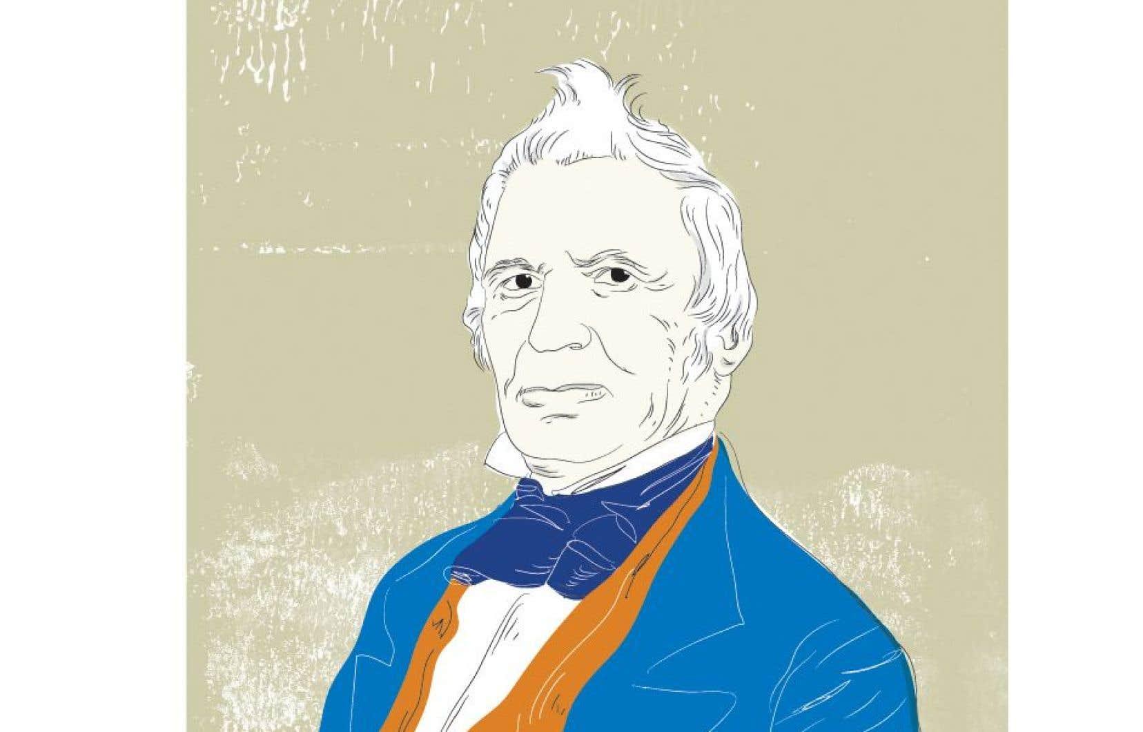 Louis-Joseph Papineau, un homme qui a observé et a façonné la vie politique du Bas-Canada.