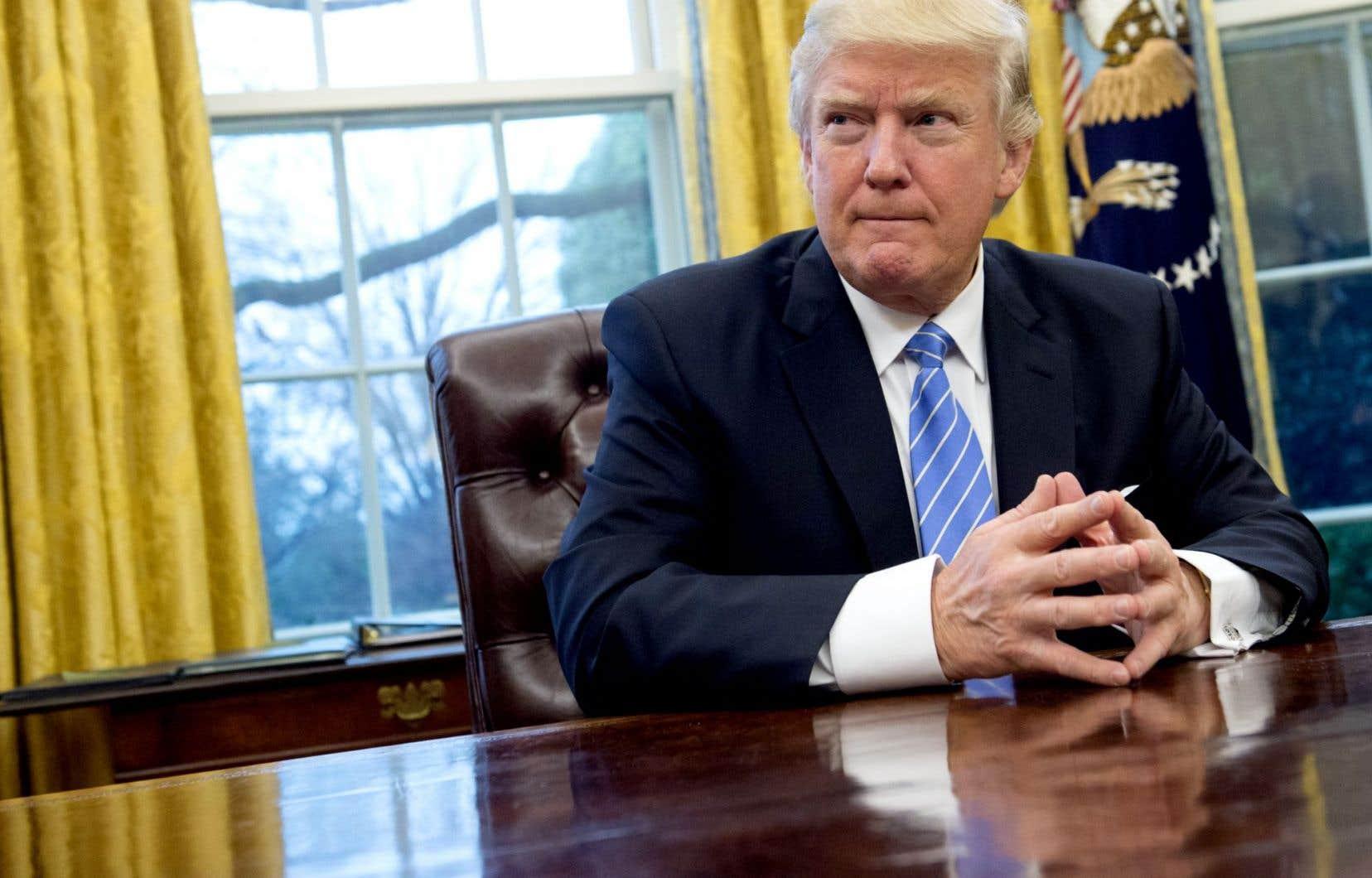 Le nouveau président s'est par ailleurs engagé à nommer à la Cour suprême un juge farouchement opposé à l'avortement.