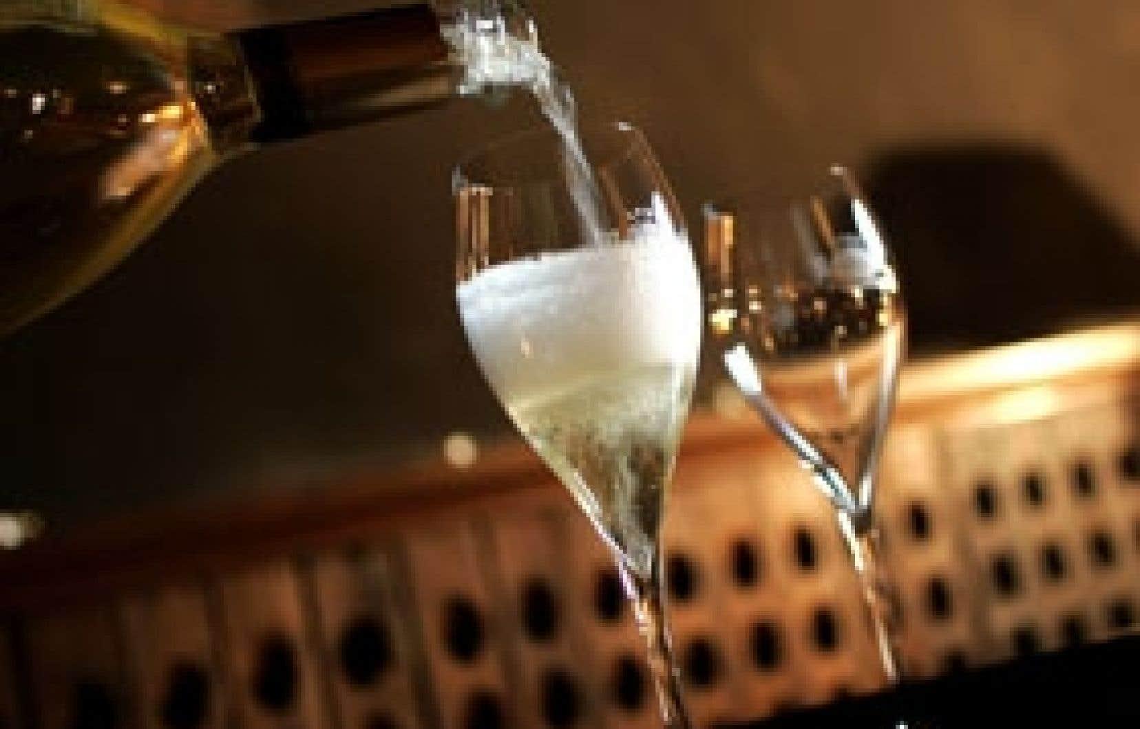 L'heure est aux mousses, qu'elles soient de Champagne ou d'ailleurs.