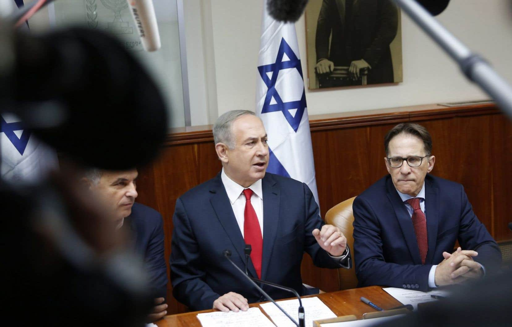 Benjamin Nétanyahou a déclaré dimanche soir devant le Conseil des ministres restreint qu'il levait toutes les restrictions à la colonisation à Jérusalem-Est.