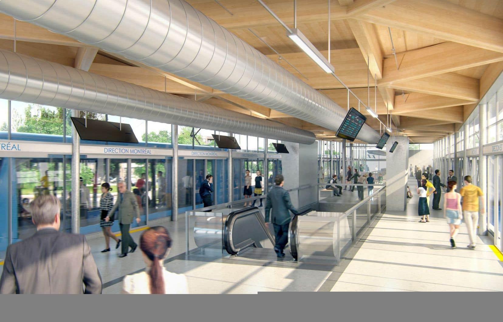 Le projet répond à des besoins en matière de transport en commun dans la région métropolitaine.