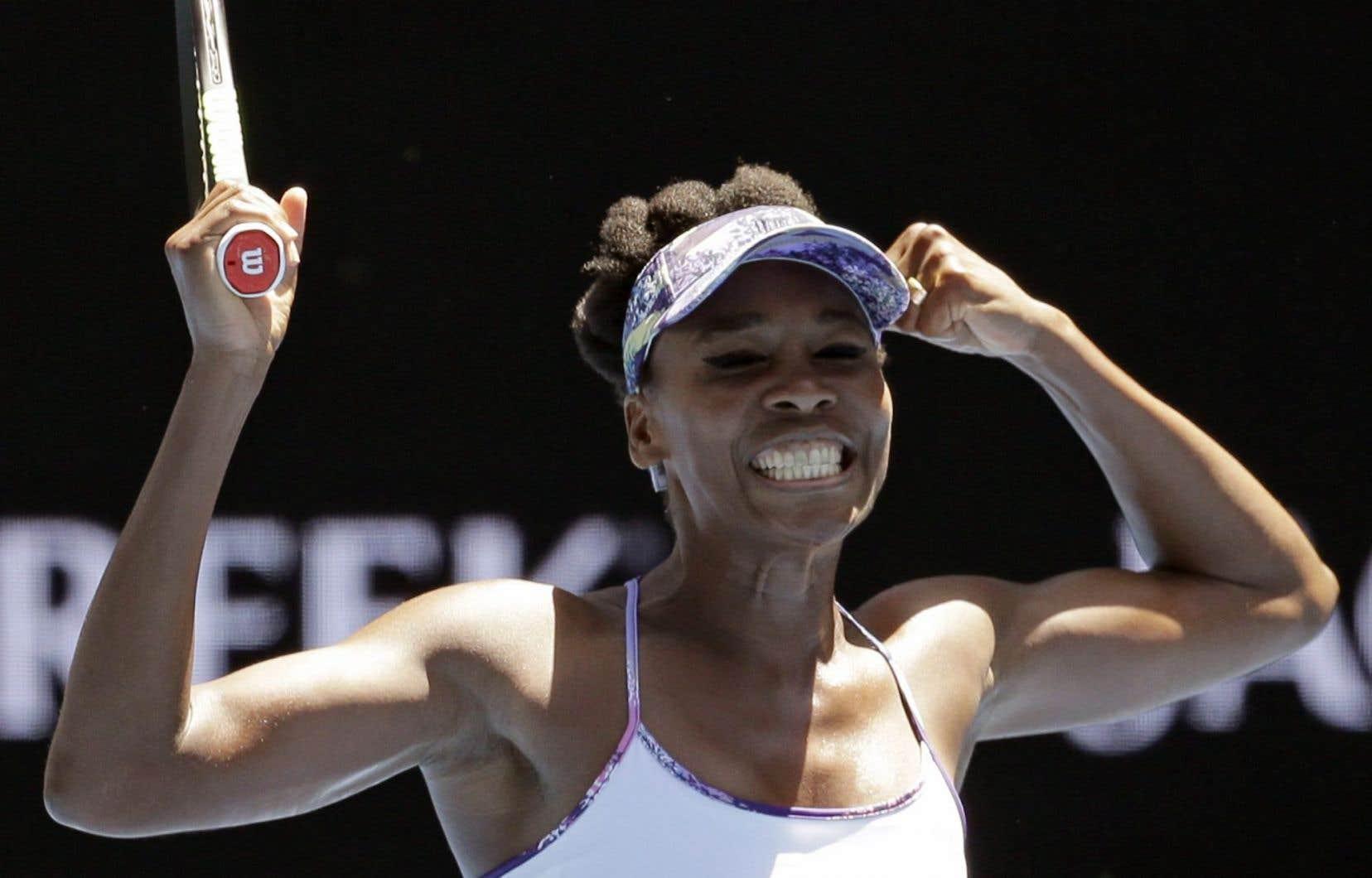 VenusWilliams a progressé au fil du tournoi sans perdre un set et elle veut que ça se poursuive ainsi en demi-finales.