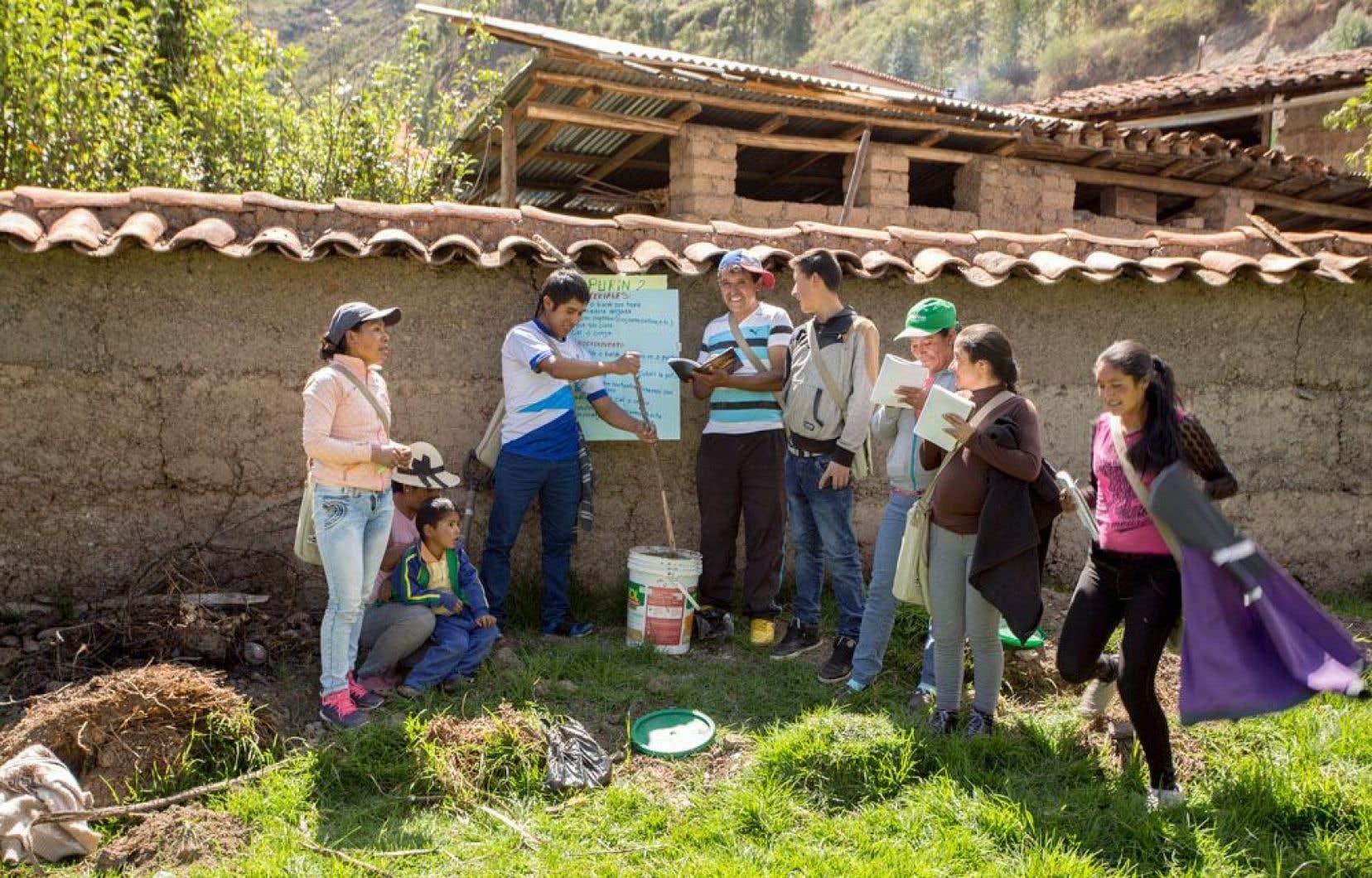 SUCO a aussi entrepris des actions au Pérou, où l'organisme a développé un programme de formation semblable à celui du Nicaragua, reconnu par le ministère de l'Éducation et qui a permis de travailler avec des communautés isolées en haute altitude.