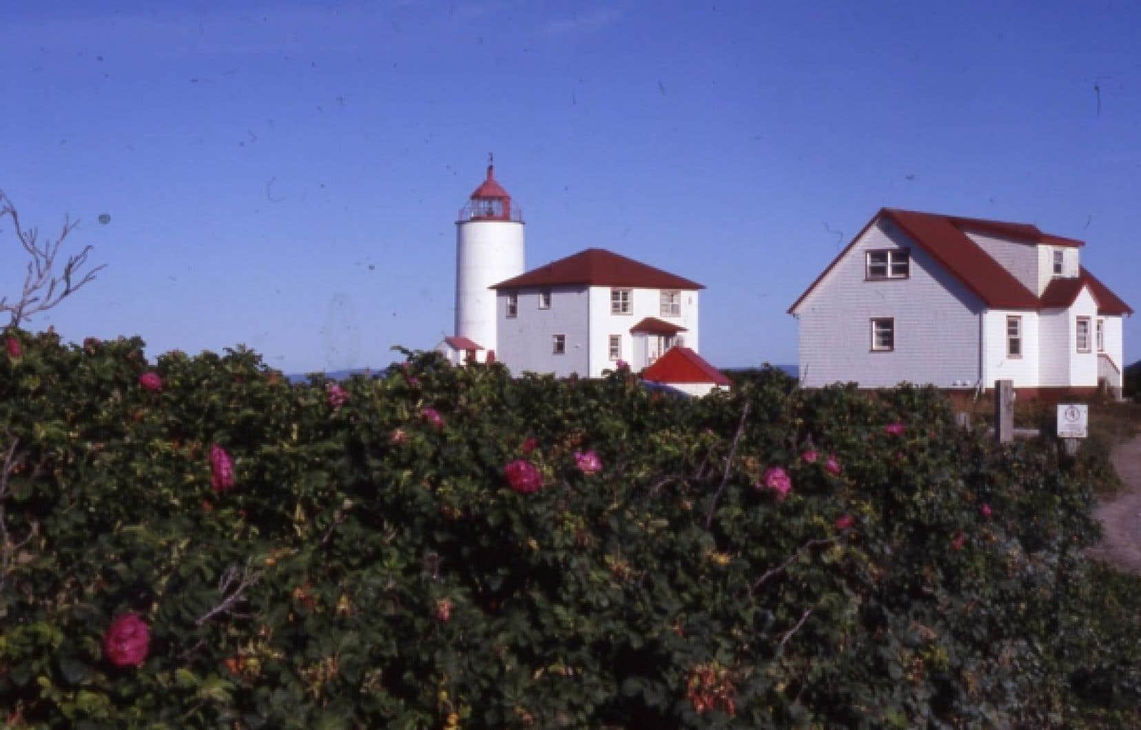 Le phare de l'île Verte, un vieux monsieur de 200 ans.