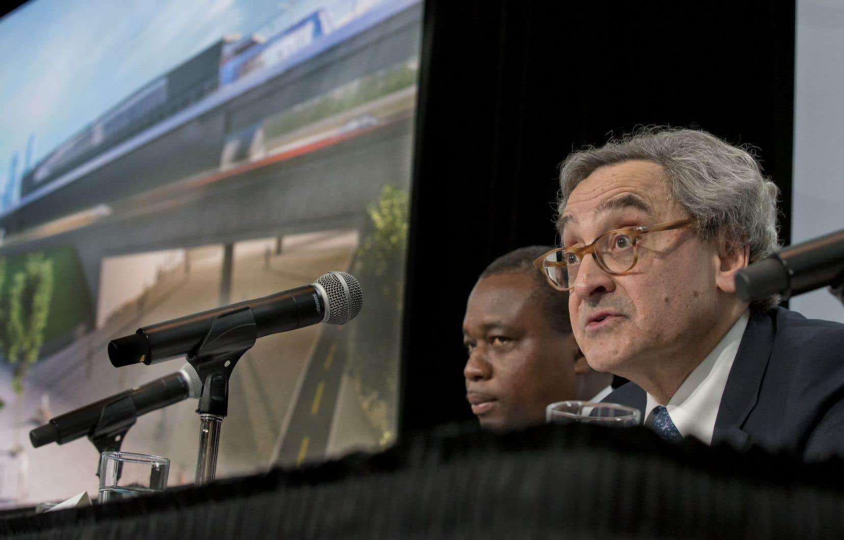 Le REM est un projet transformateur pour le Grand Montréal, dit Michael Sabia.