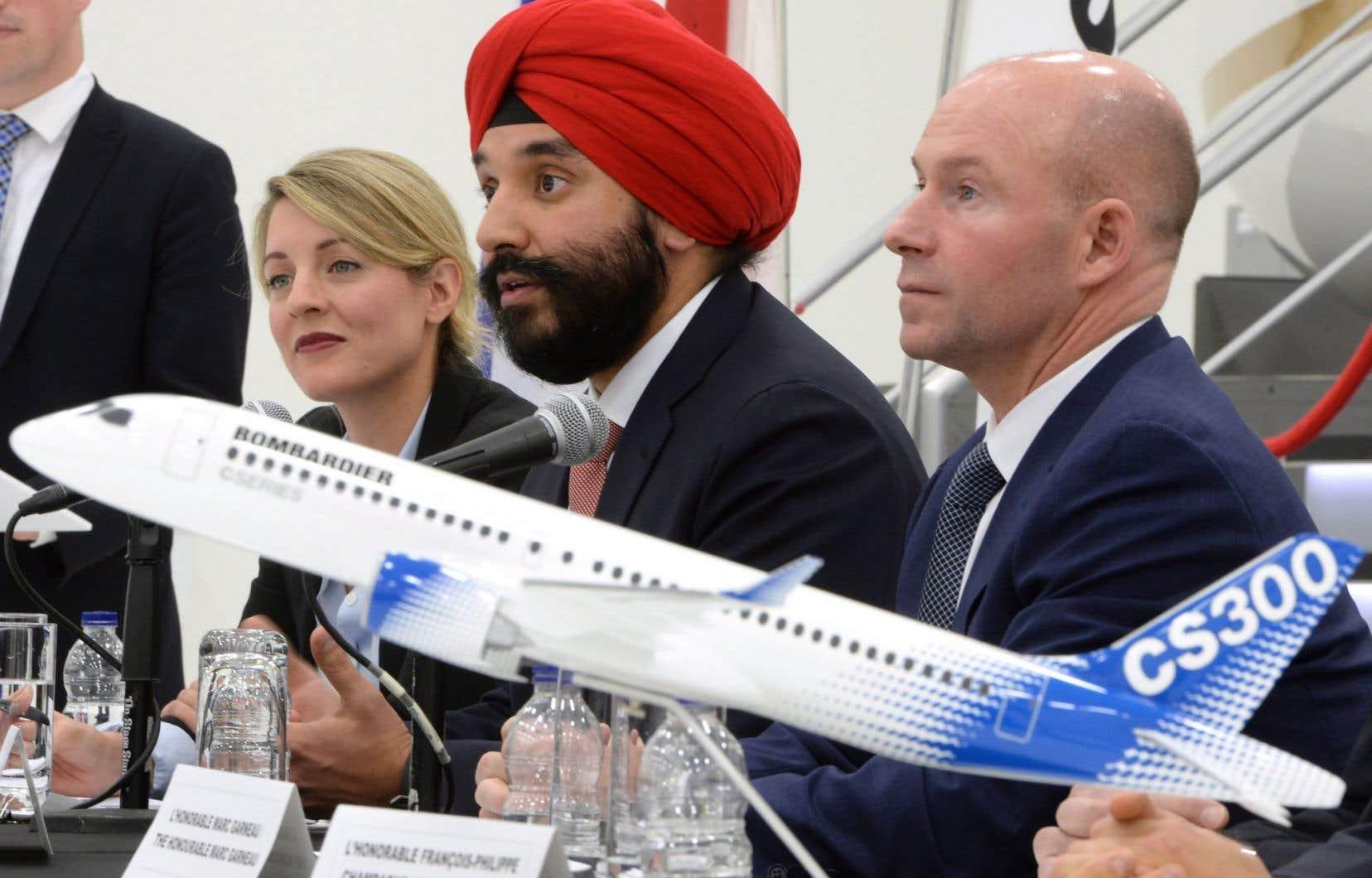Le gouvernement québécois a déjà investi 1milliard dans la CSeries.