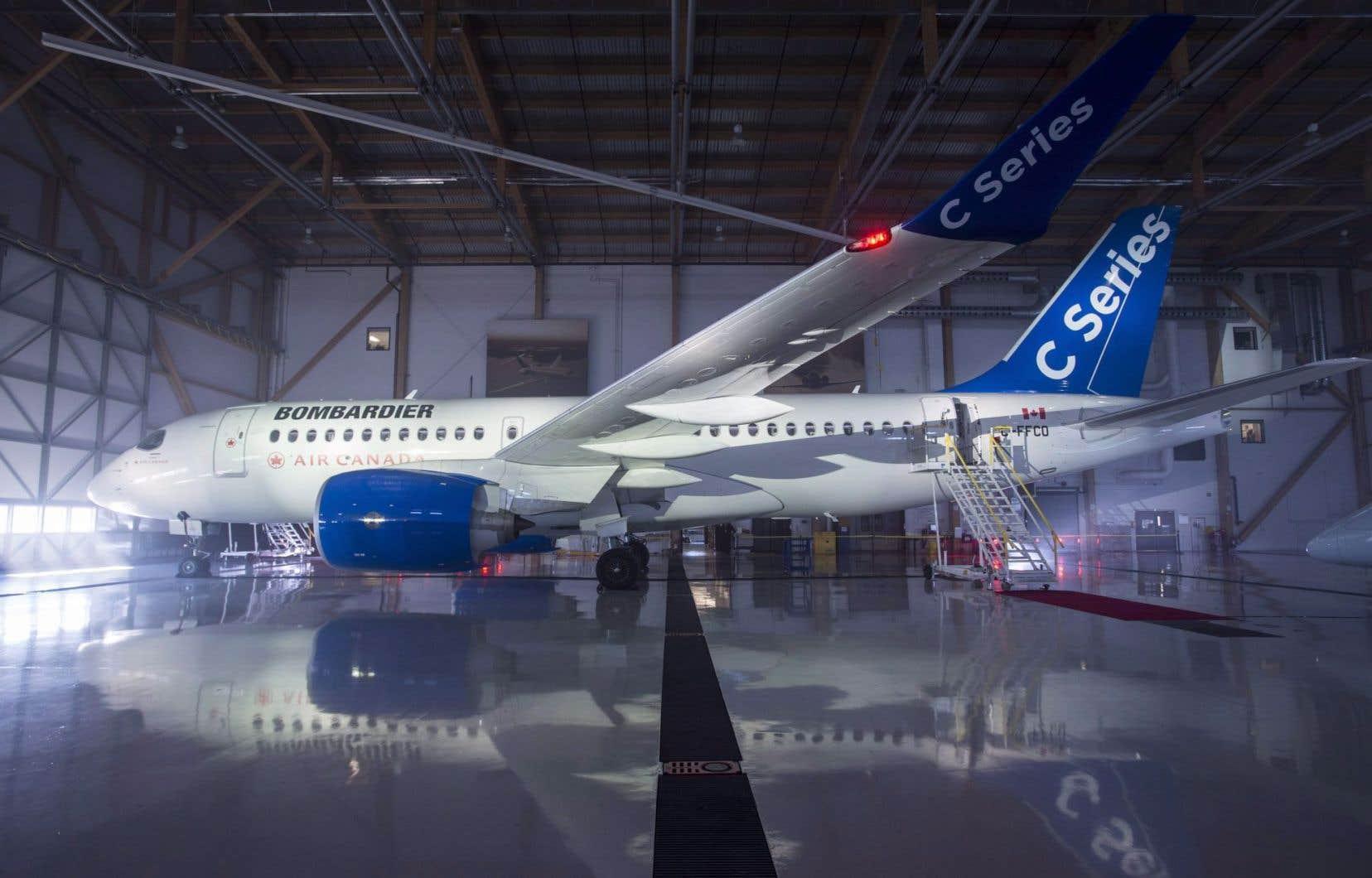 Dans leur plainte les autorités brésiliennes ciblent particulièrement le programme de l'avion commercial CSeries.