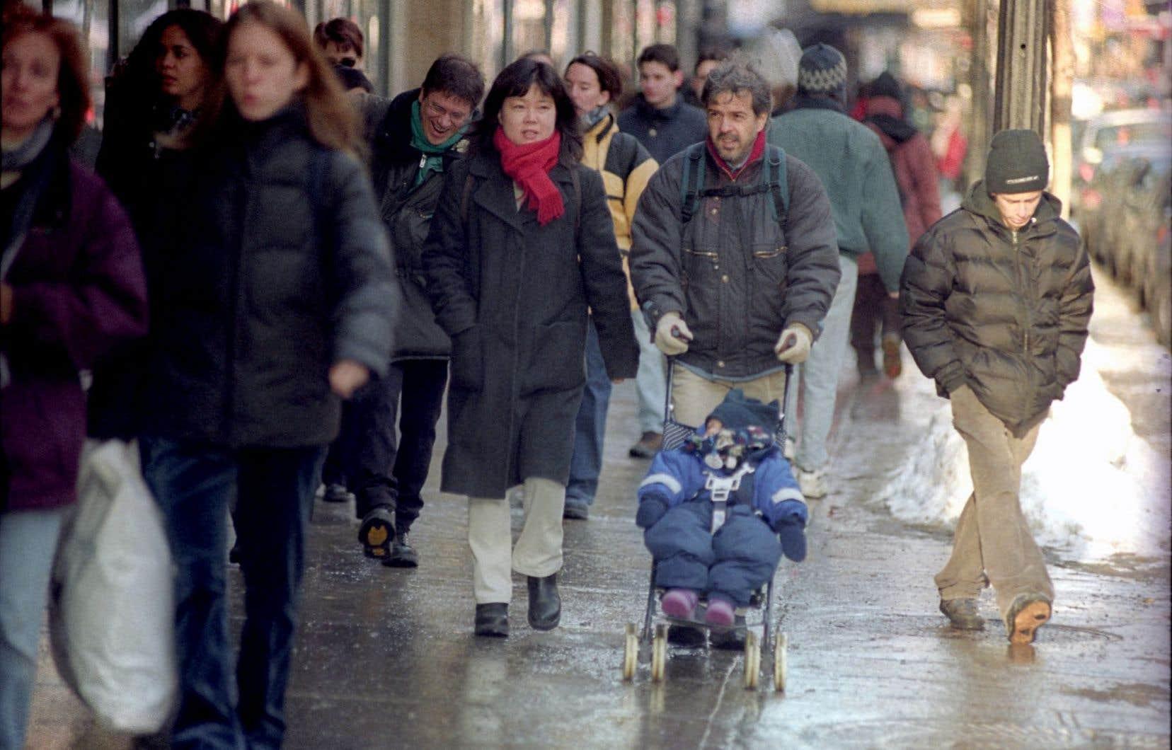 Le croissance démographique du Québec est inférieure à la moyenne nationale.