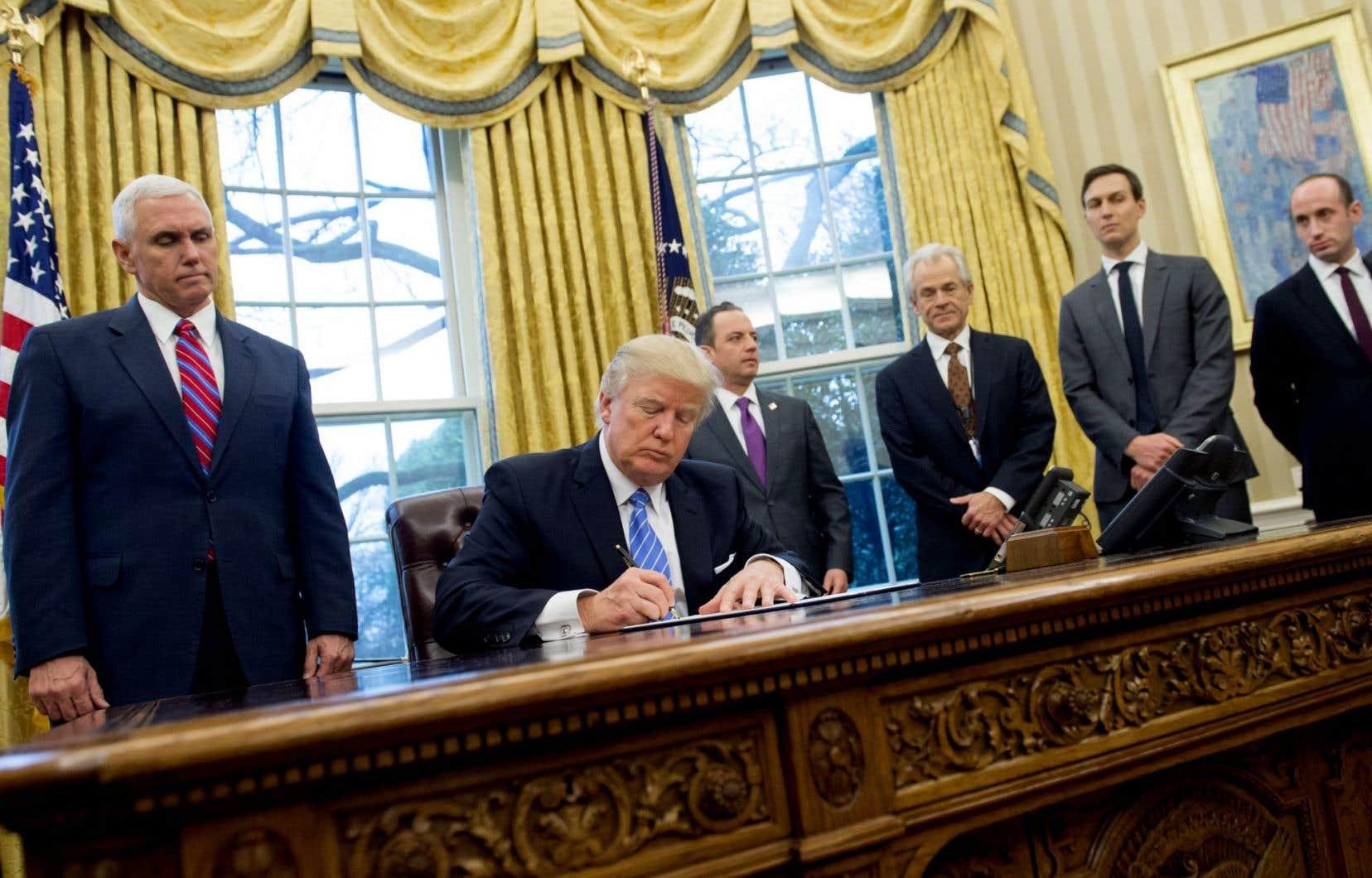 La plupart des chercheurs disent avoir pris leur décision à la suite du décret migratoire de Donald Trump.