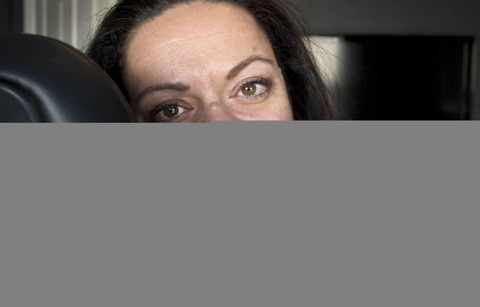 Victime d'agression sexuelle au cours de son enfance, Marie-Karina Dimitri affirme avoir pu reprendre le contrôle de sa vie grâce aux soins prodigués par La Traversée.