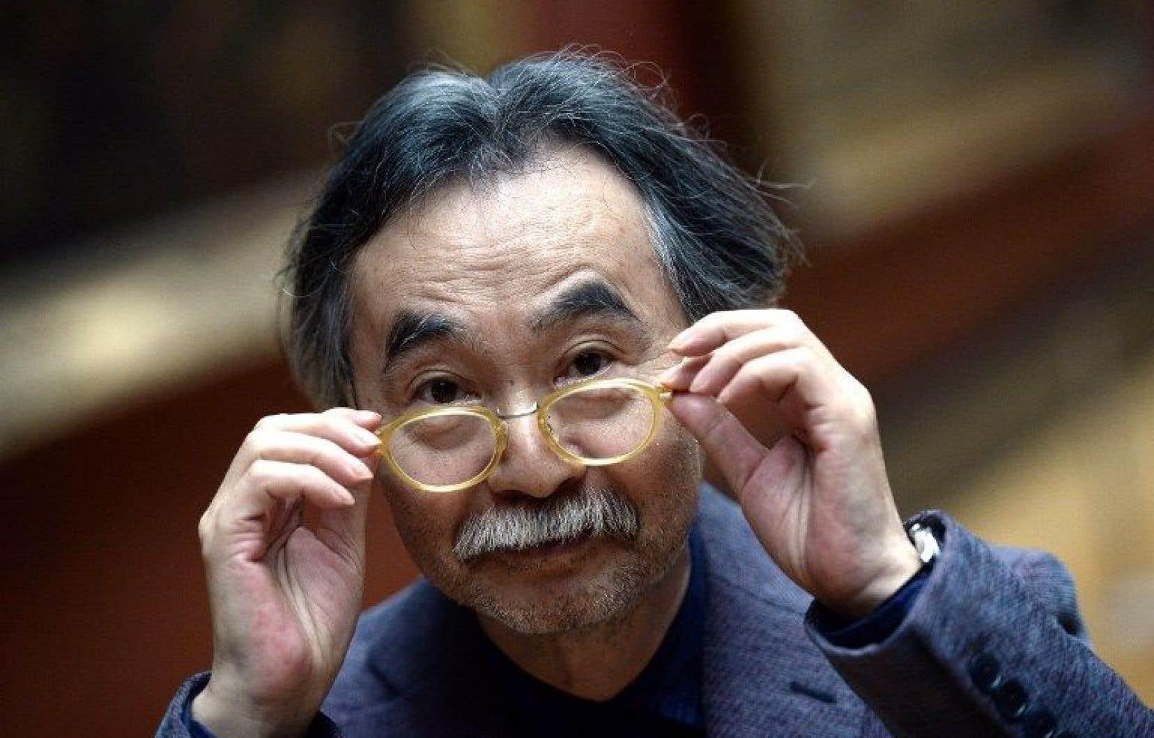 Le maître du manga Jiro Taniguchi