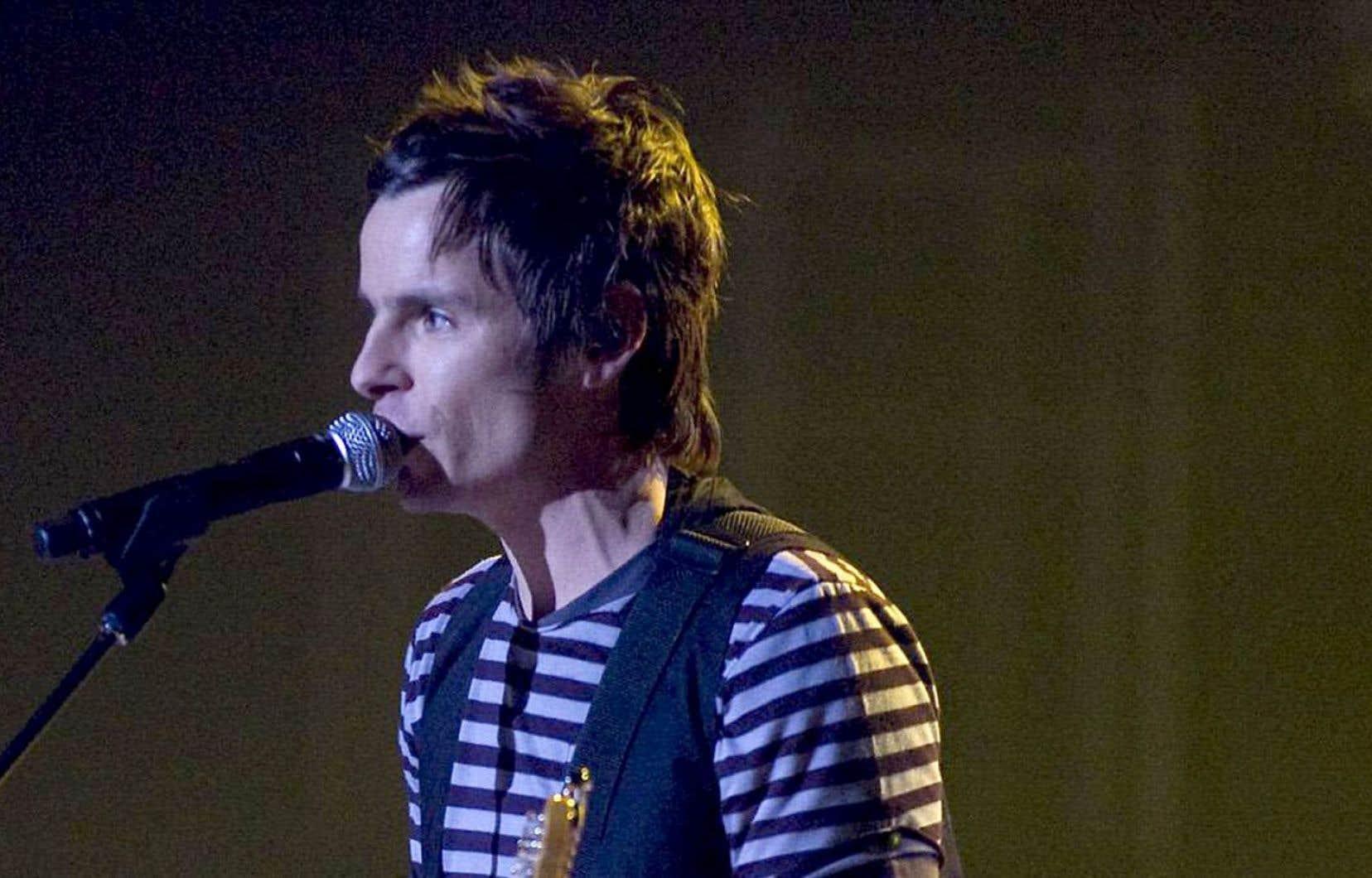 Le musicien David Bussières a lancé le Regroupement des artisans de la musique.