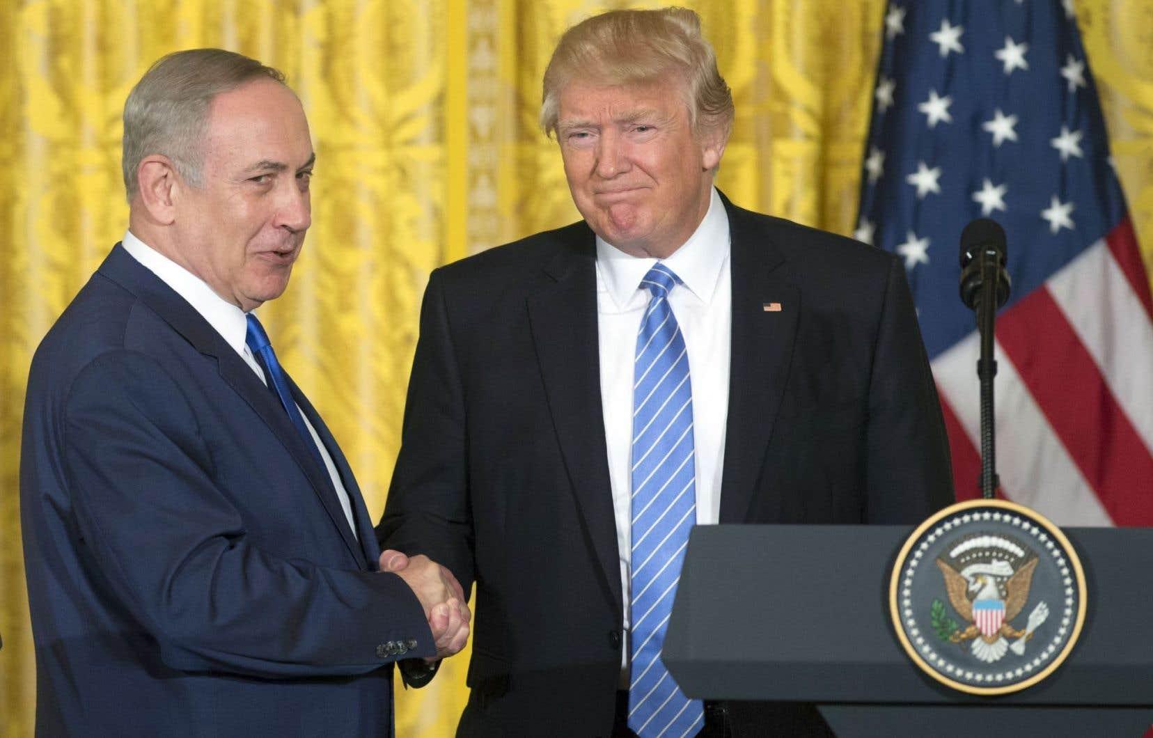 Le premier ministre israélien, Benjamin Nétanyahou, est arrivé mercredi en milieu de journée à la Maison-Blanche pour rencontrer le président américain, Donald Trump.
