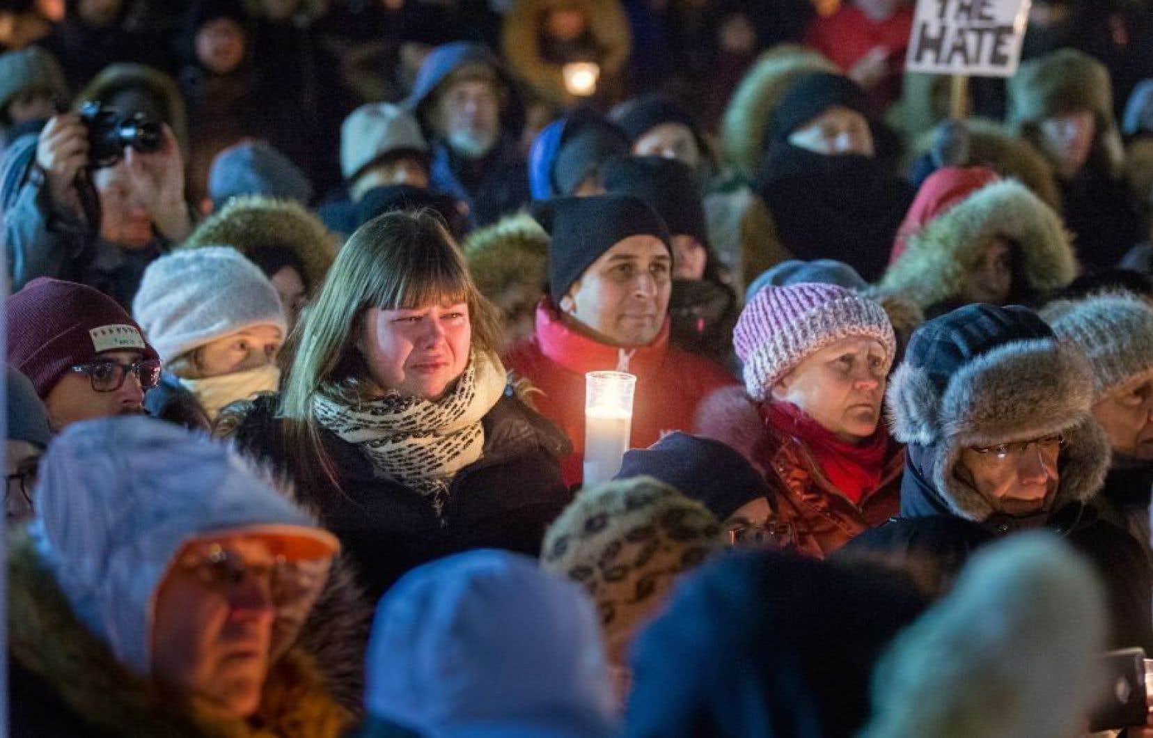 La motion M-103 a été déposée en décembre dernier, soit bien avant l'attentat à la Grande Mosquée de Québec.