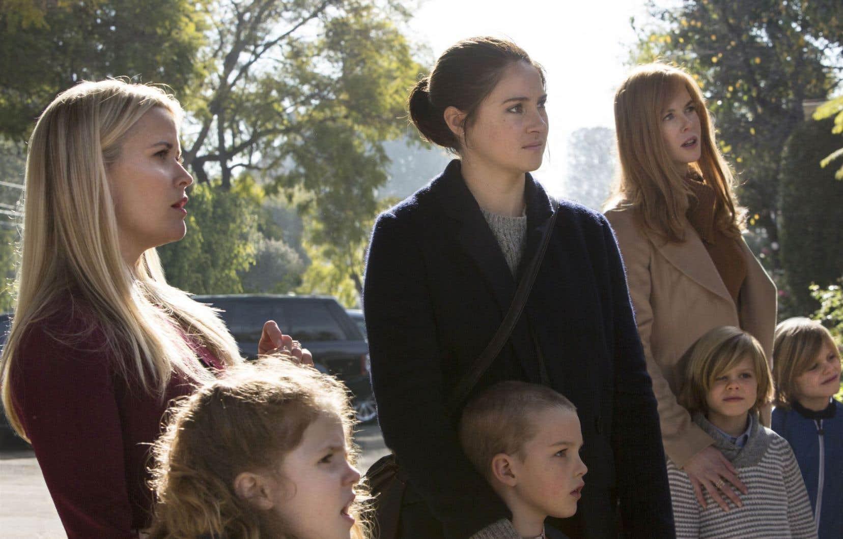 «Big Little Lies», qui compte sept épisodes, met notamment en vedette Reese Witherspoon, Shailene Woodley et Nicole Kidman.