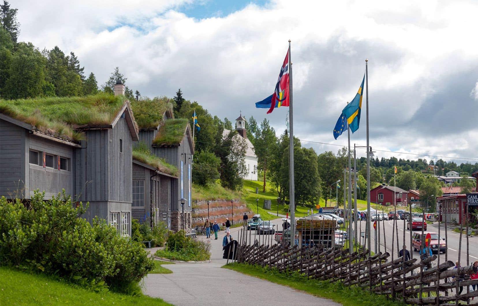 Située à quelque 600km au nord de Stockholm, la ville de Funäsdalen est encerclée par un vaste territoire qui sert de pâturage aux troupeaux de rennes du sud du Sápmi.