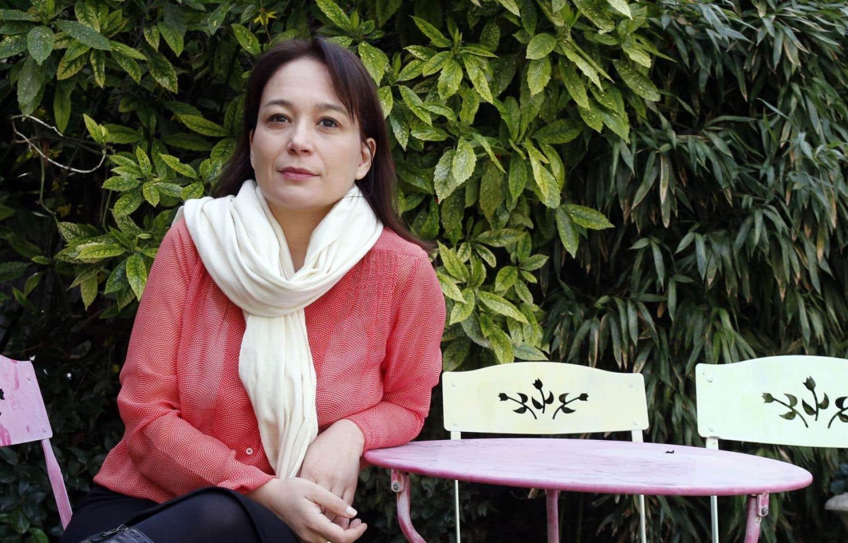 L'écrivaine argentine Laura Alcoba