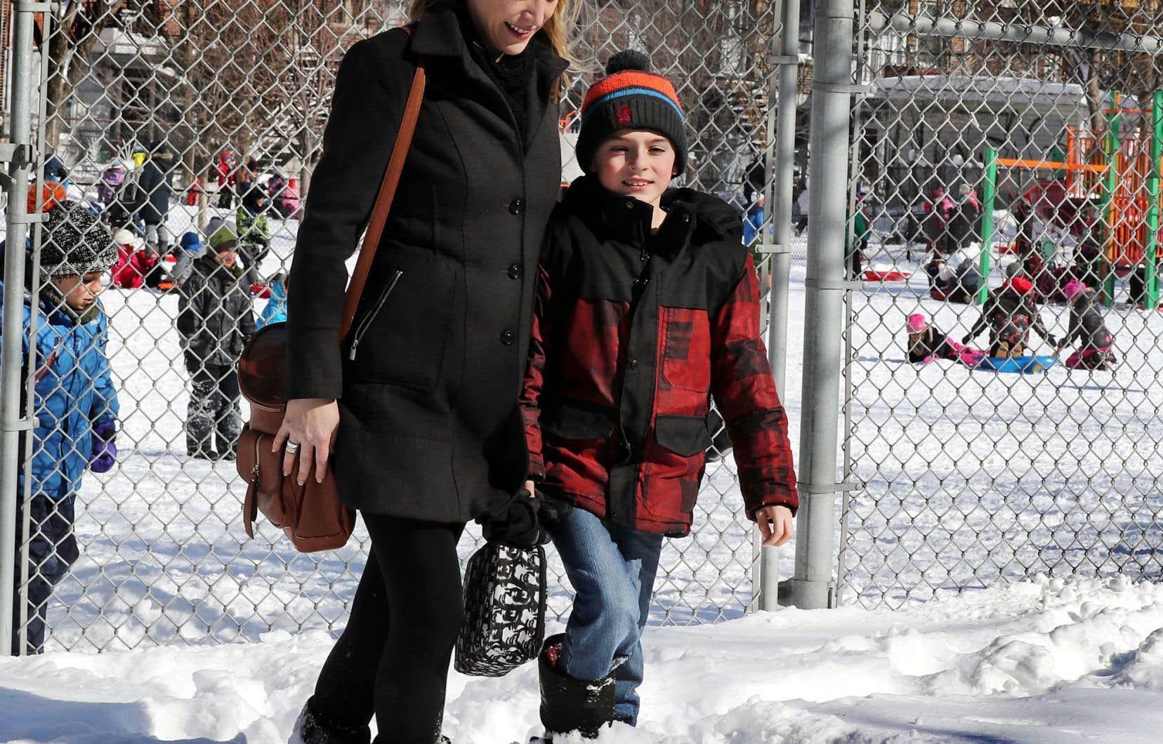 William, 10 ans, fréquente une classe spécialisée dans une école publique du Plateau Mont-Royal.