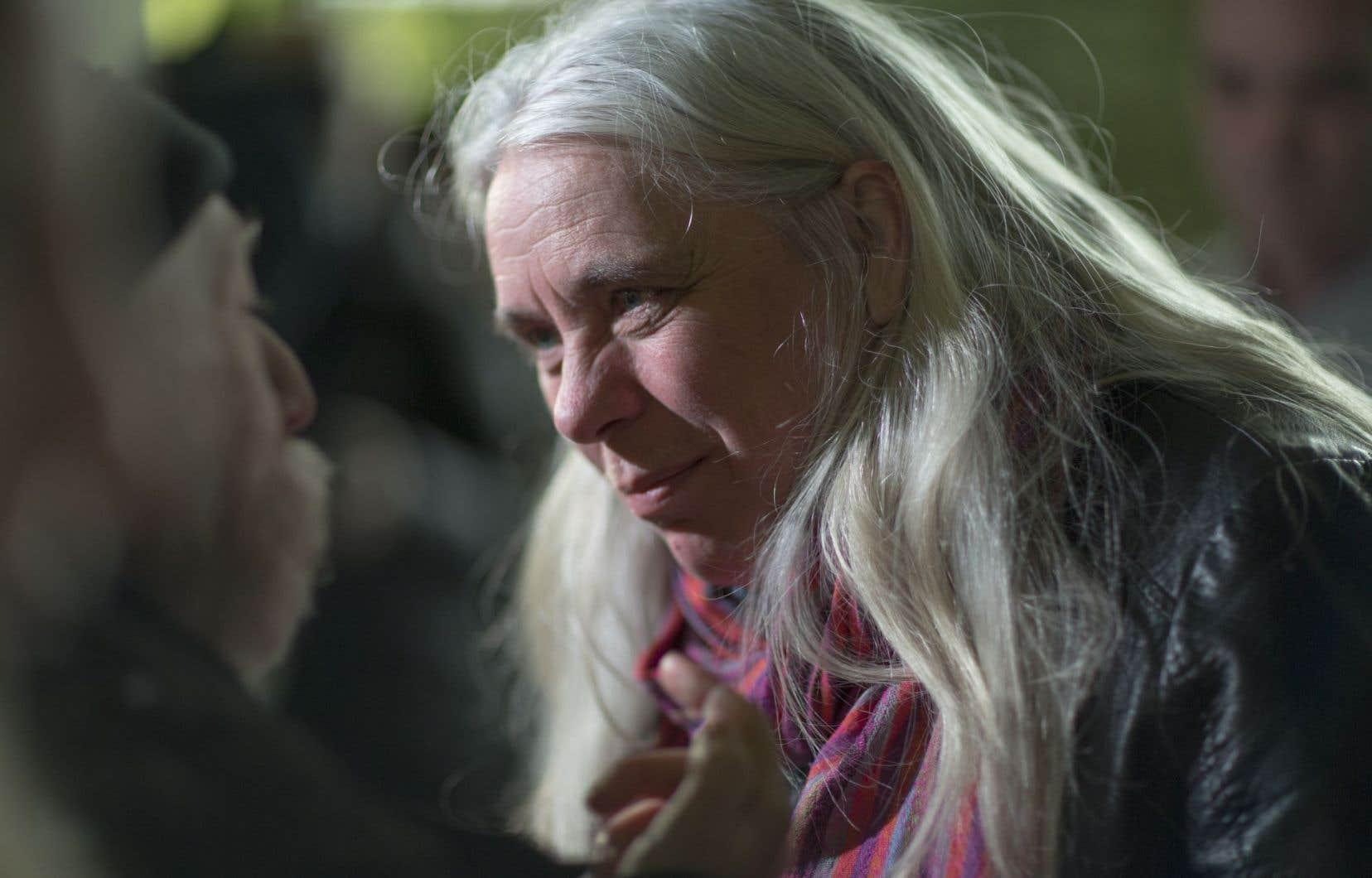 La députée de Québec solidaire dans Sainte-Marie–Saint-Jacques, Manon Massé