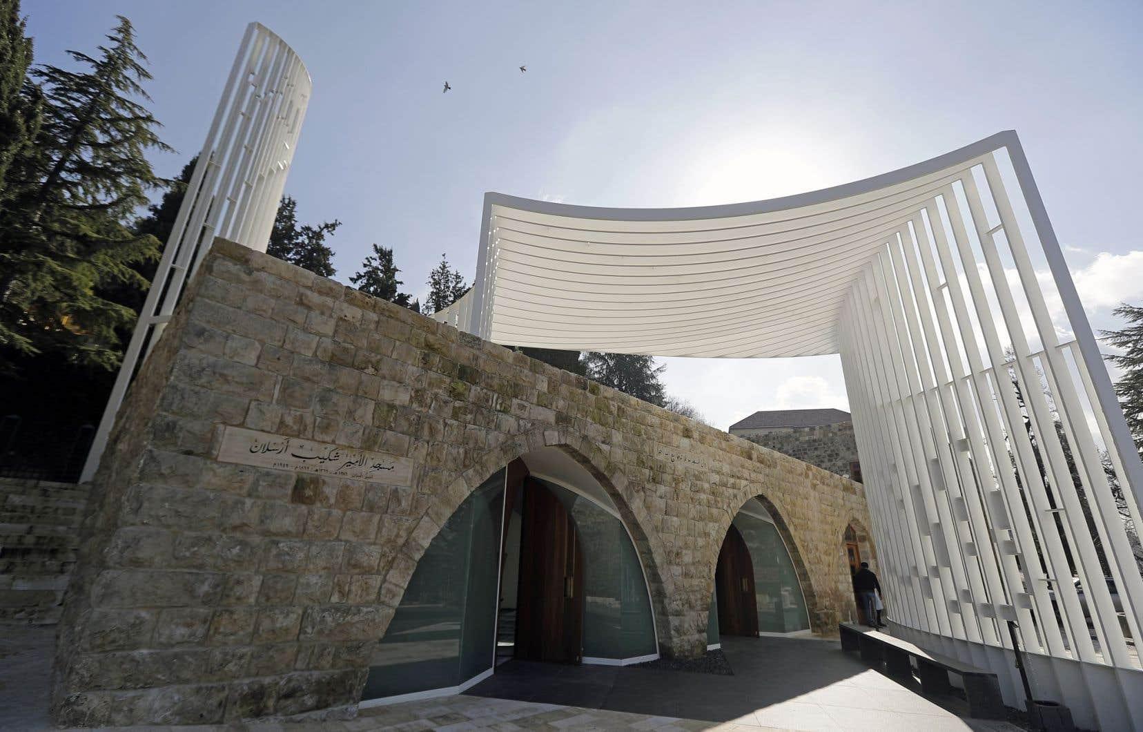 La mosquée imaginée par l'architecte Makram al-Kadi vise à susciter une réflexion sur la religion et la modernité.