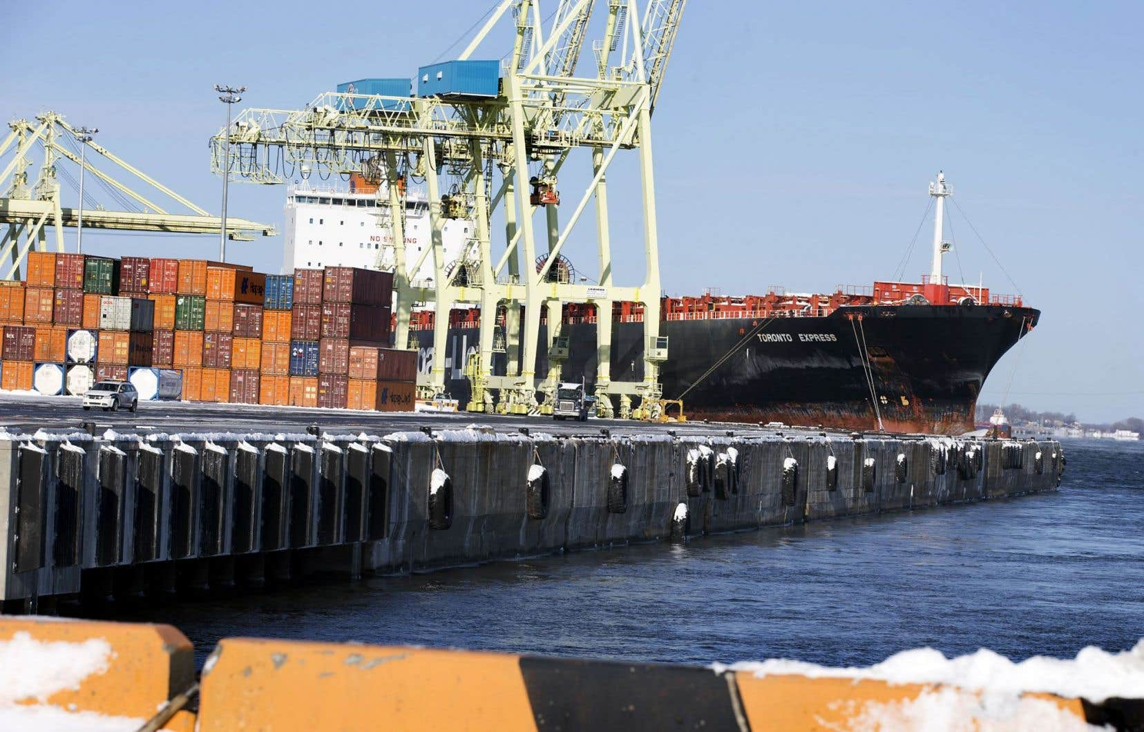 Dernier port d'envergure avant les Grands Lacs, celui de Montréal figure parmi les principaux pôles logistiques de l'économie canadienne.